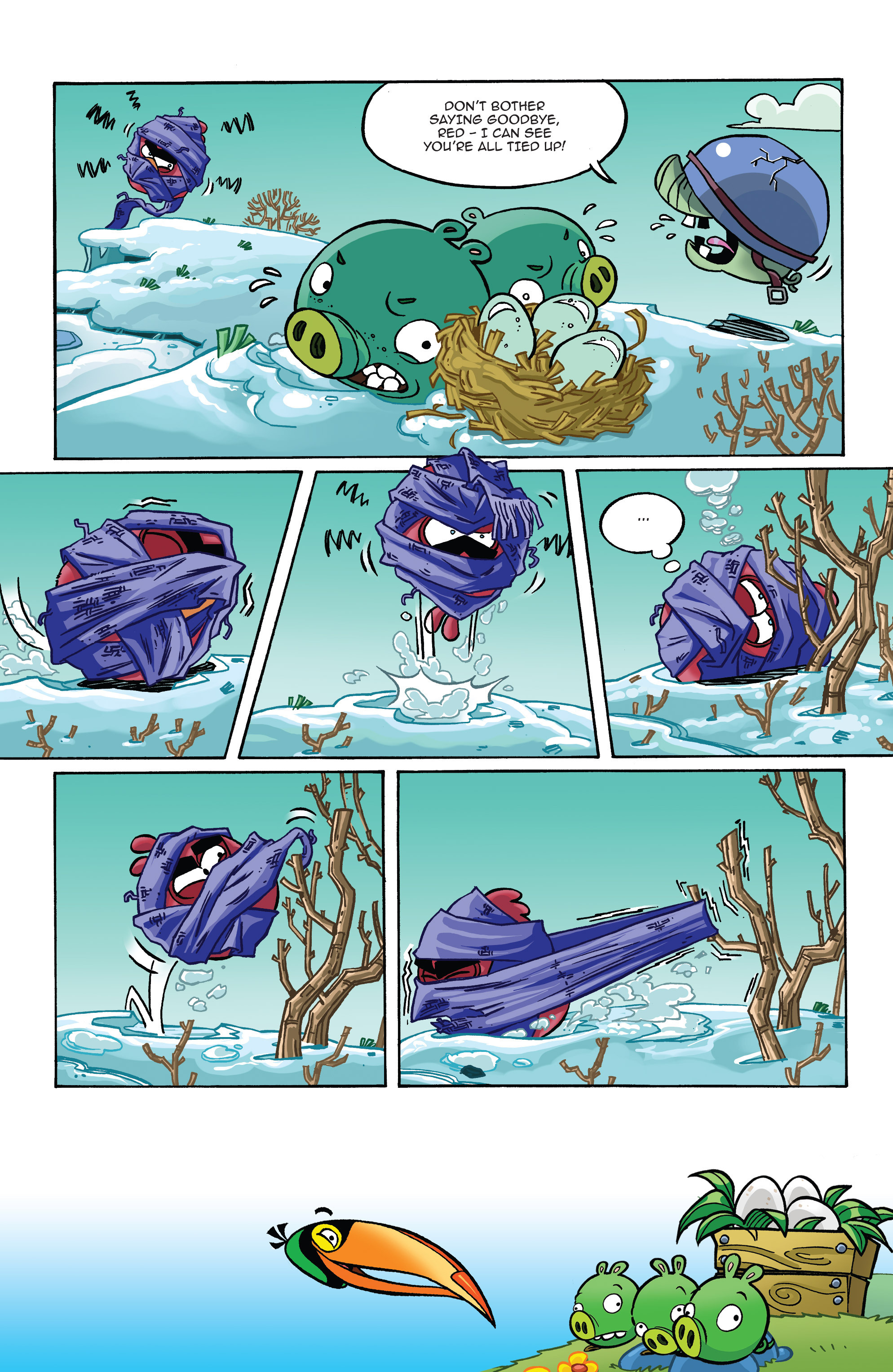 Read online Angry Birds Comics (2014) comic -  Issue #10 - 17