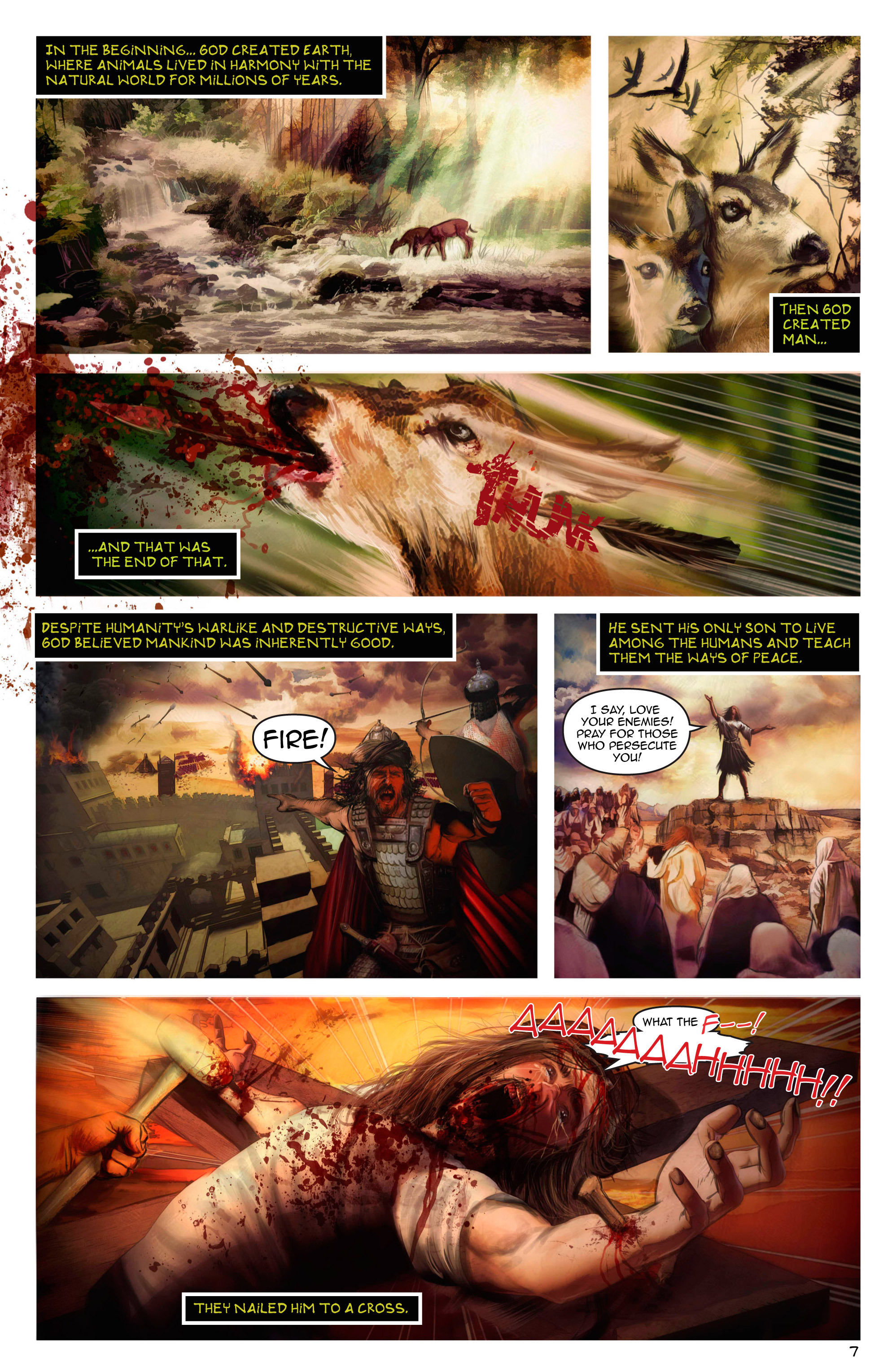 Read online Escape from Jesus Island comic -  Issue #2 - 7