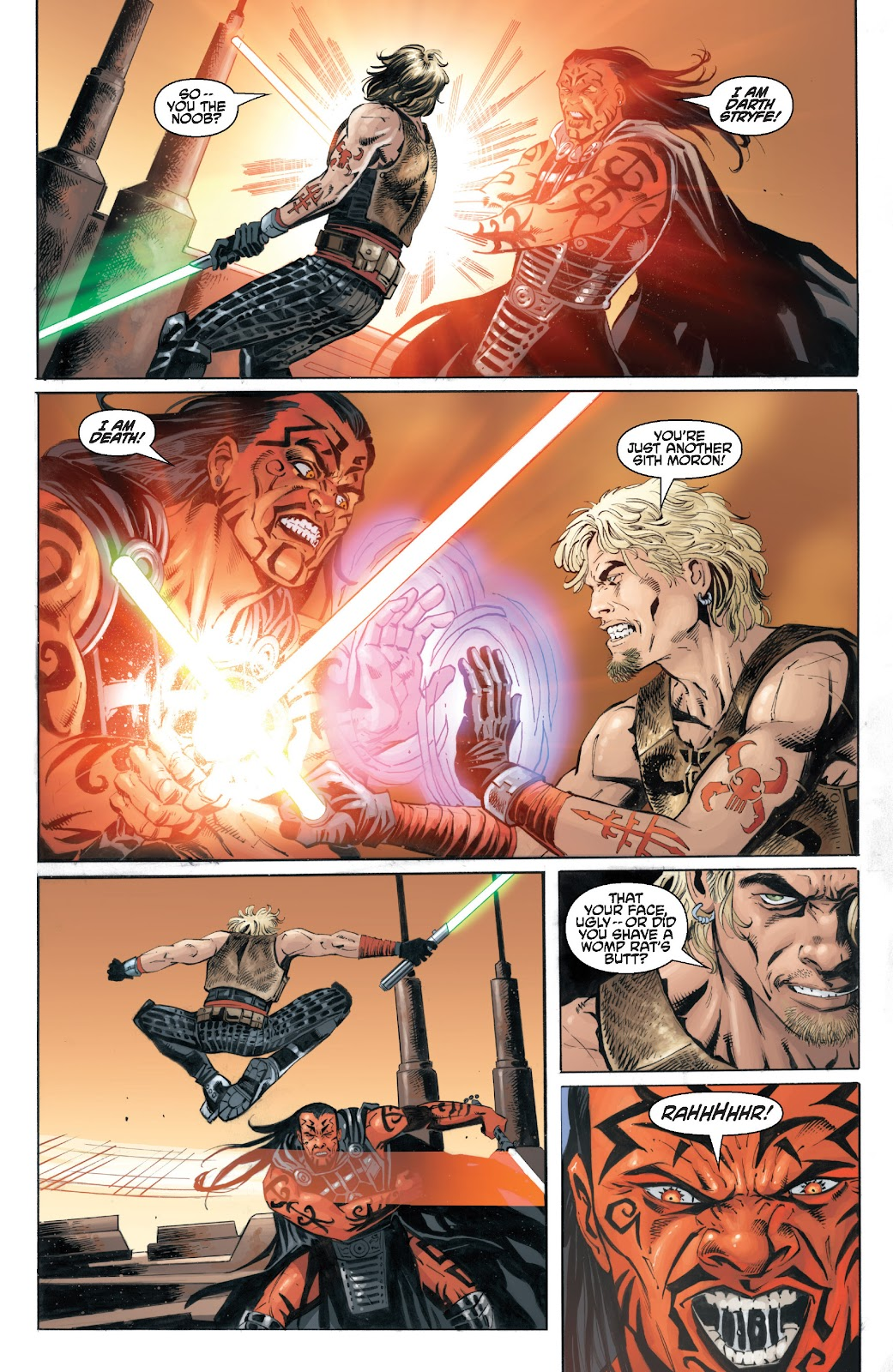 Read online Star Wars Legends: Legacy - Epic Collection comic -  Issue # TPB 2 (Part 3) - 73