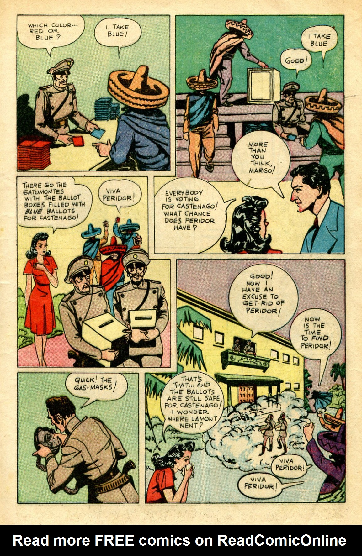 Read online Shadow Comics comic -  Issue #67 - 13