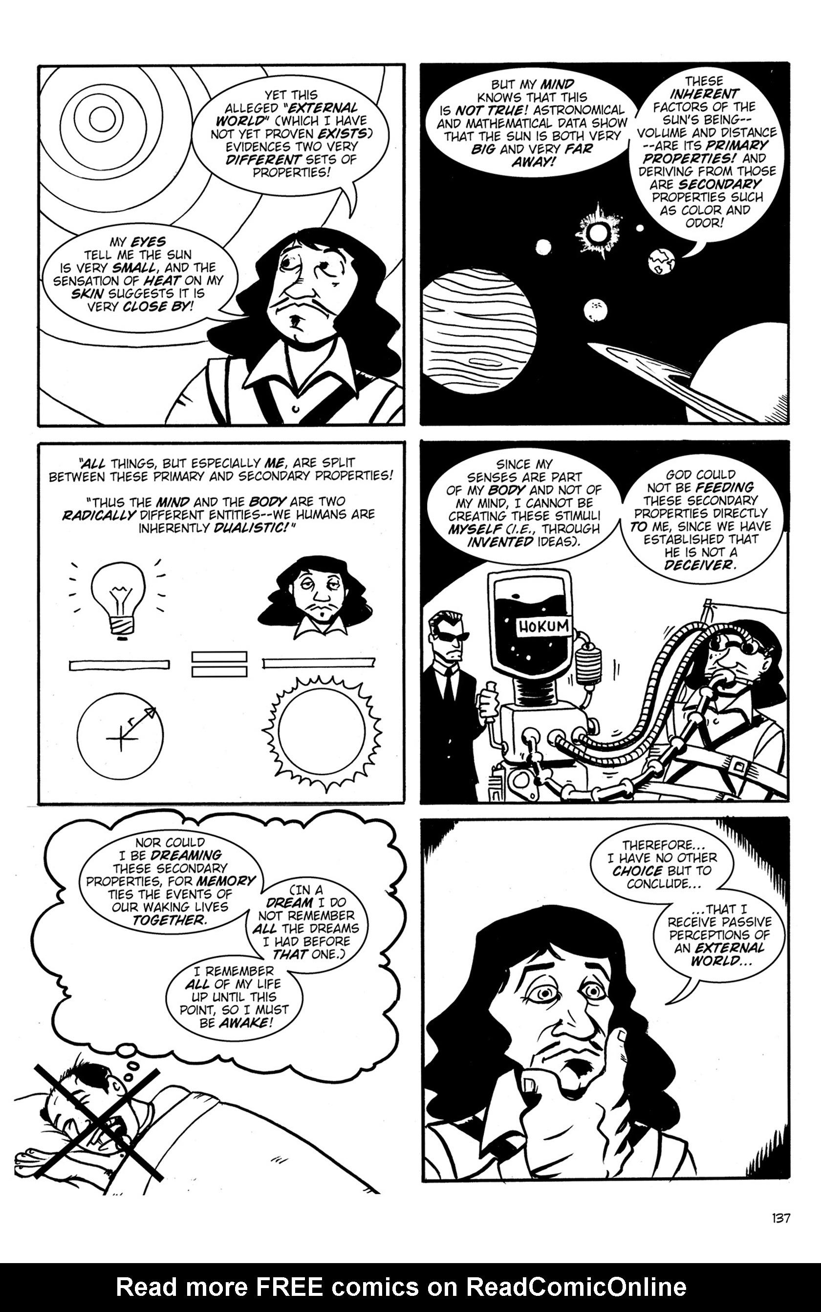 Read online Action Philosophers! comic -  Issue #Action Philosophers! TPB (Part 1) - 136
