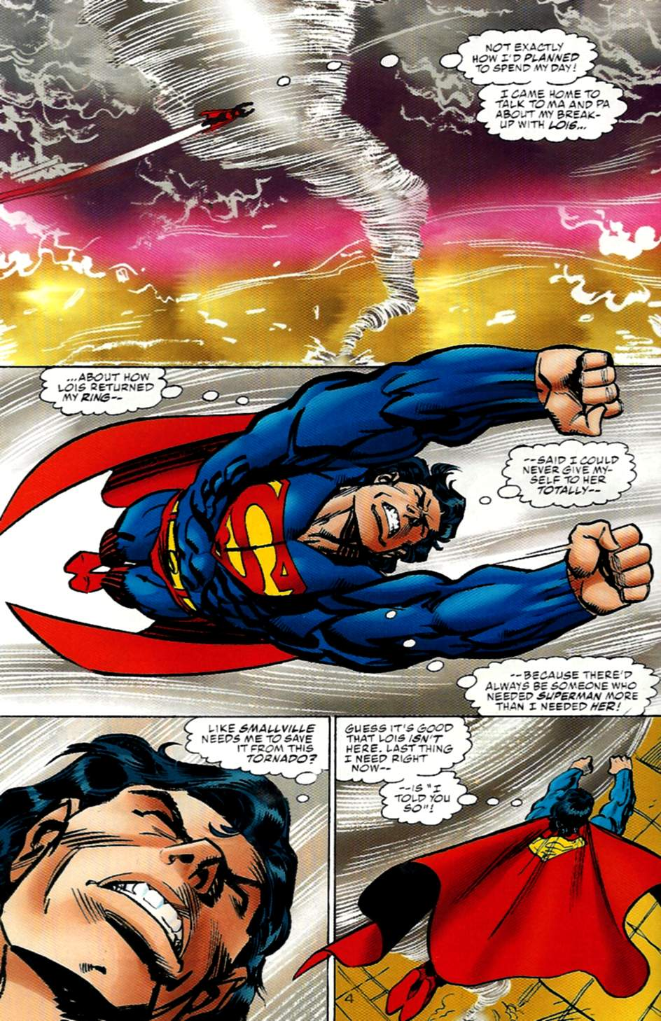 Read online Action Comics (1938) comic -  Issue #722 - 4