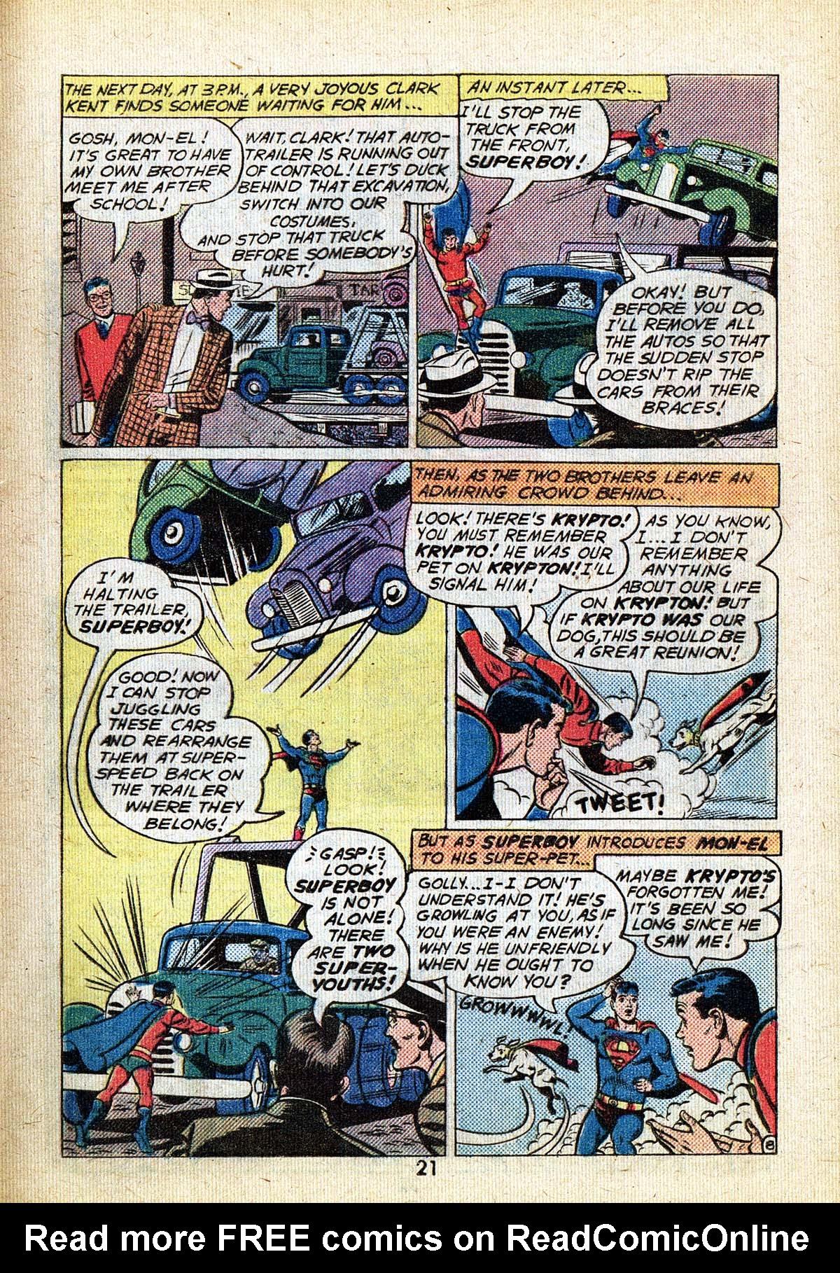Read online Adventure Comics (1938) comic -  Issue #494 - 21