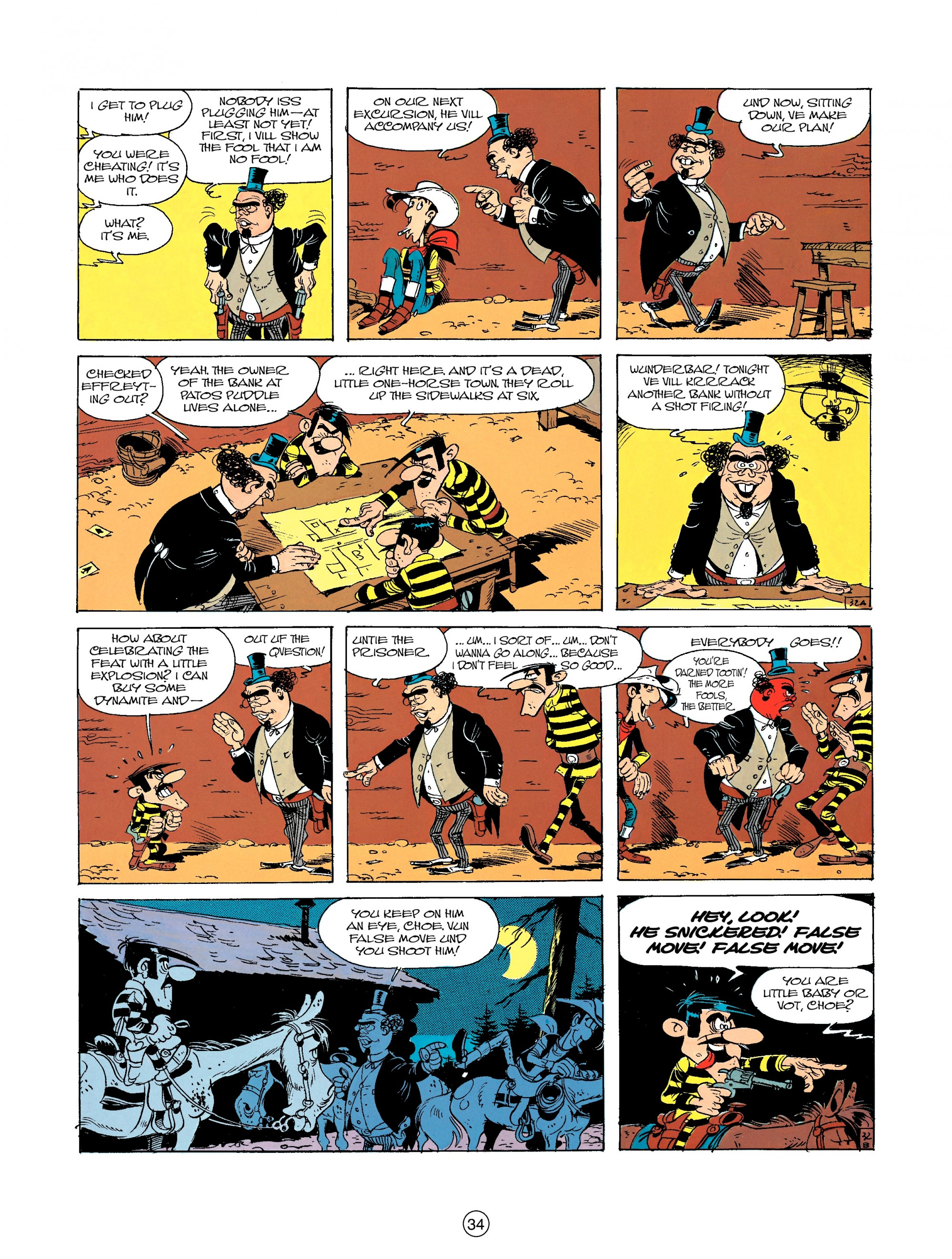Read online A Lucky Luke Adventure comic -  Issue #23 - 34