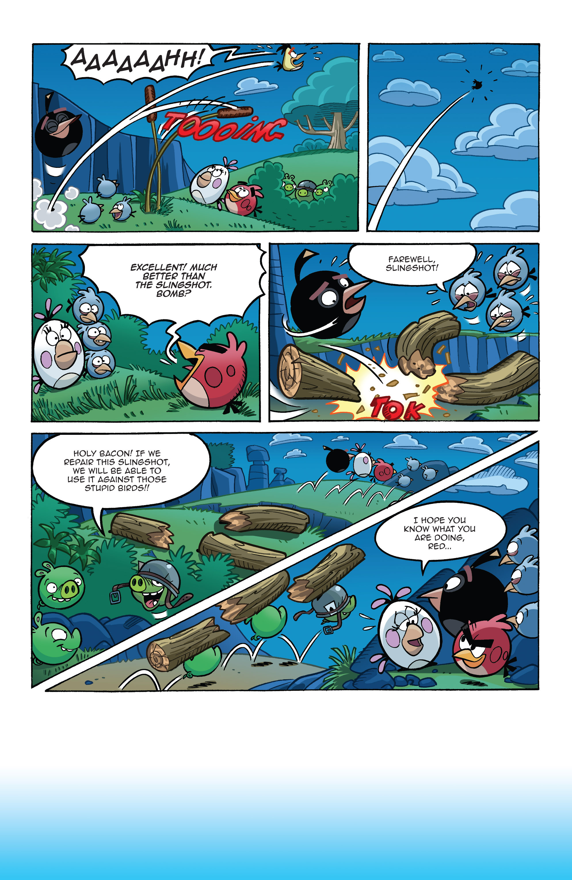 Read online Angry Birds Comics (2014) comic -  Issue #8 - 12