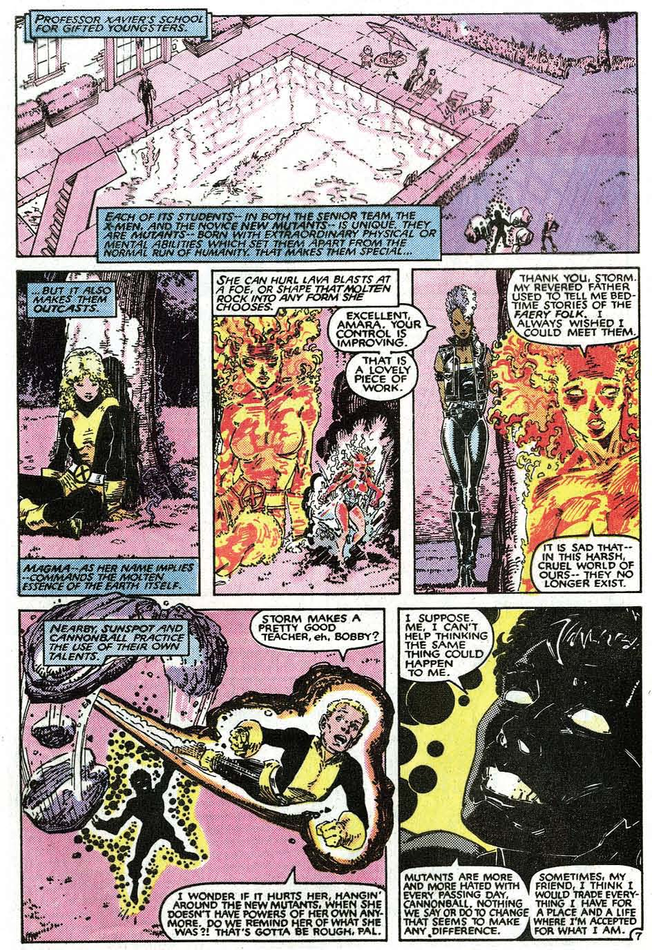 Read online Uncanny X-Men (1963) comic -  Issue # _Annual 9 - 9
