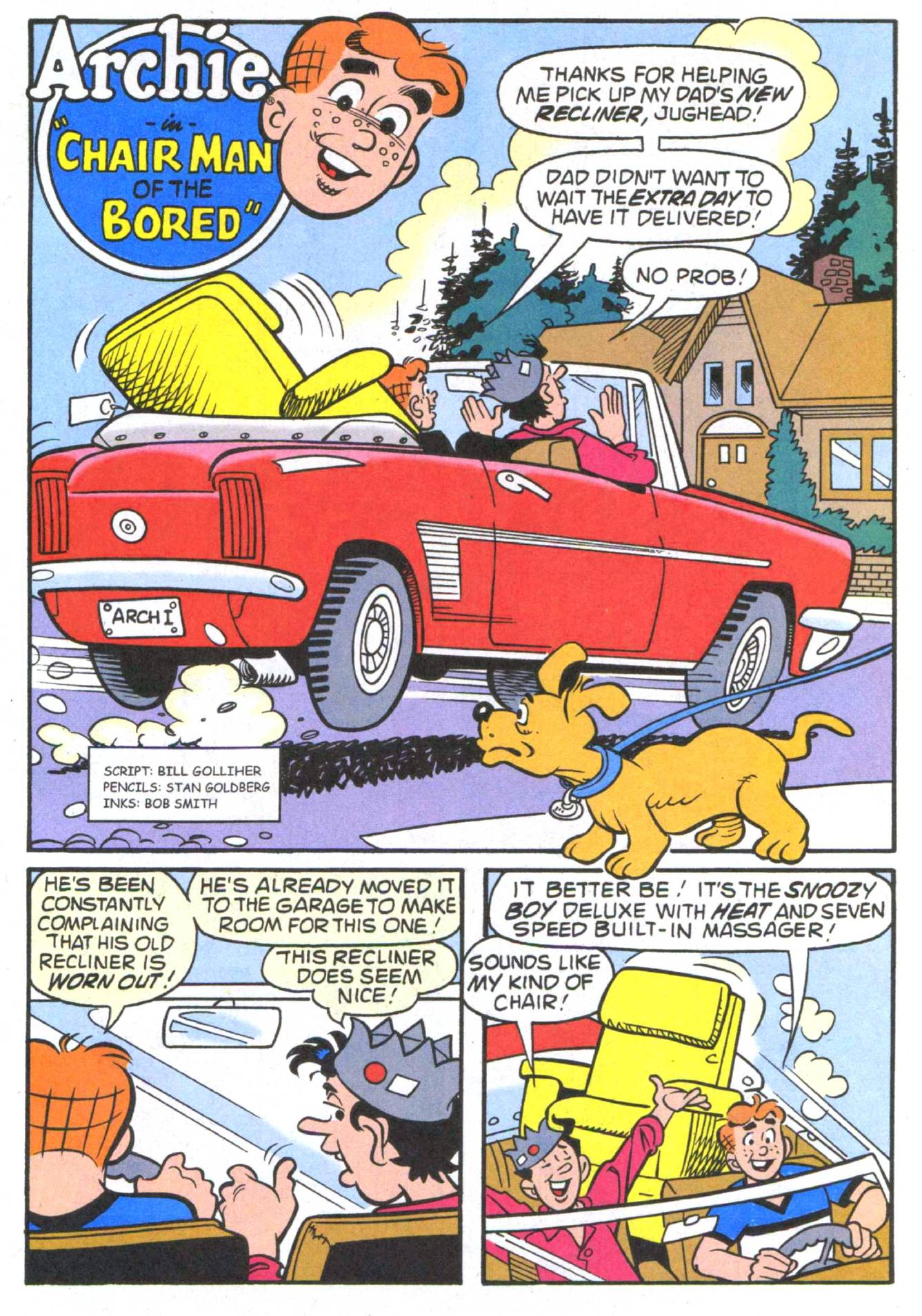Read online Archie (1960) comic -  Issue #513 - 29