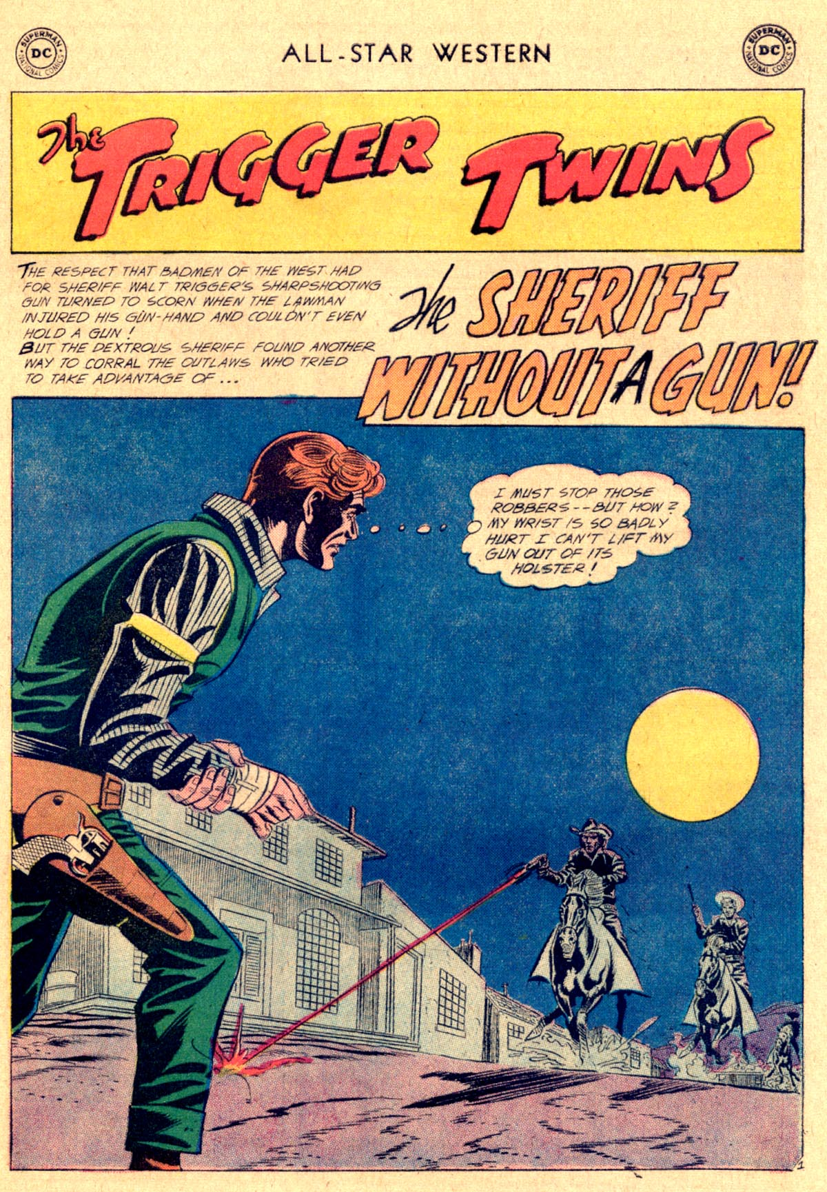 Read online All-Star Western (1951) comic -  Issue #112 - 25