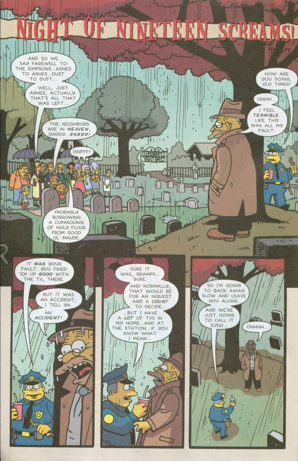 Read online Treehouse of Horror comic -  Issue #8 - 3