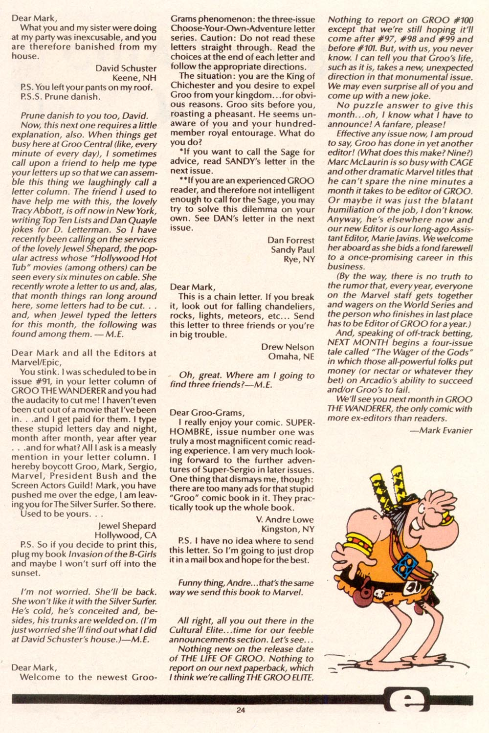 Read online Sergio Aragonés Groo the Wanderer comic -  Issue #95 - 25