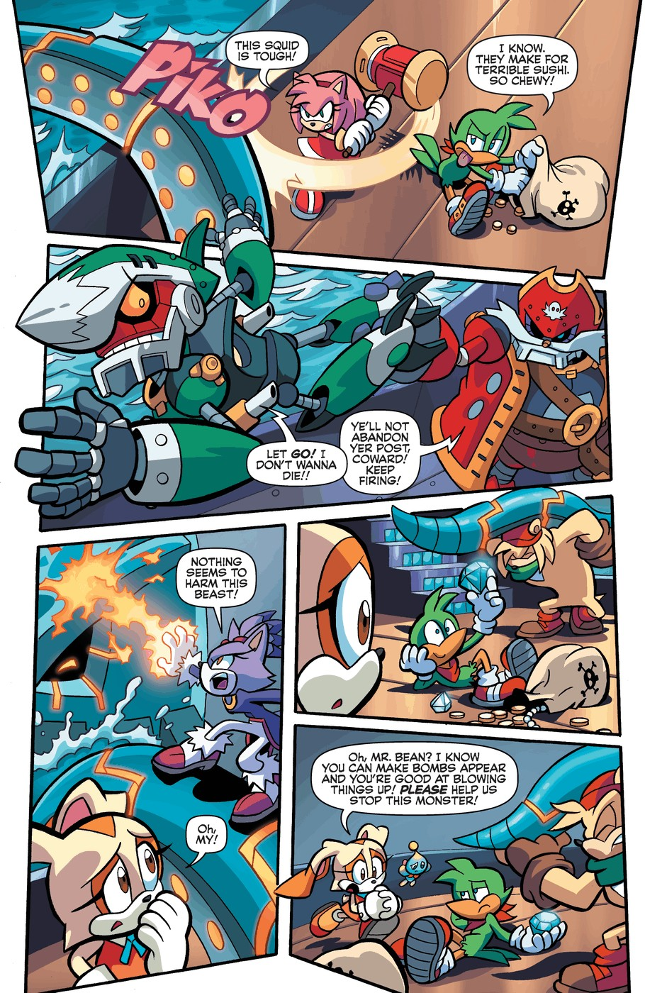 Read online Sonic Universe comic -  Issue #57 - 18