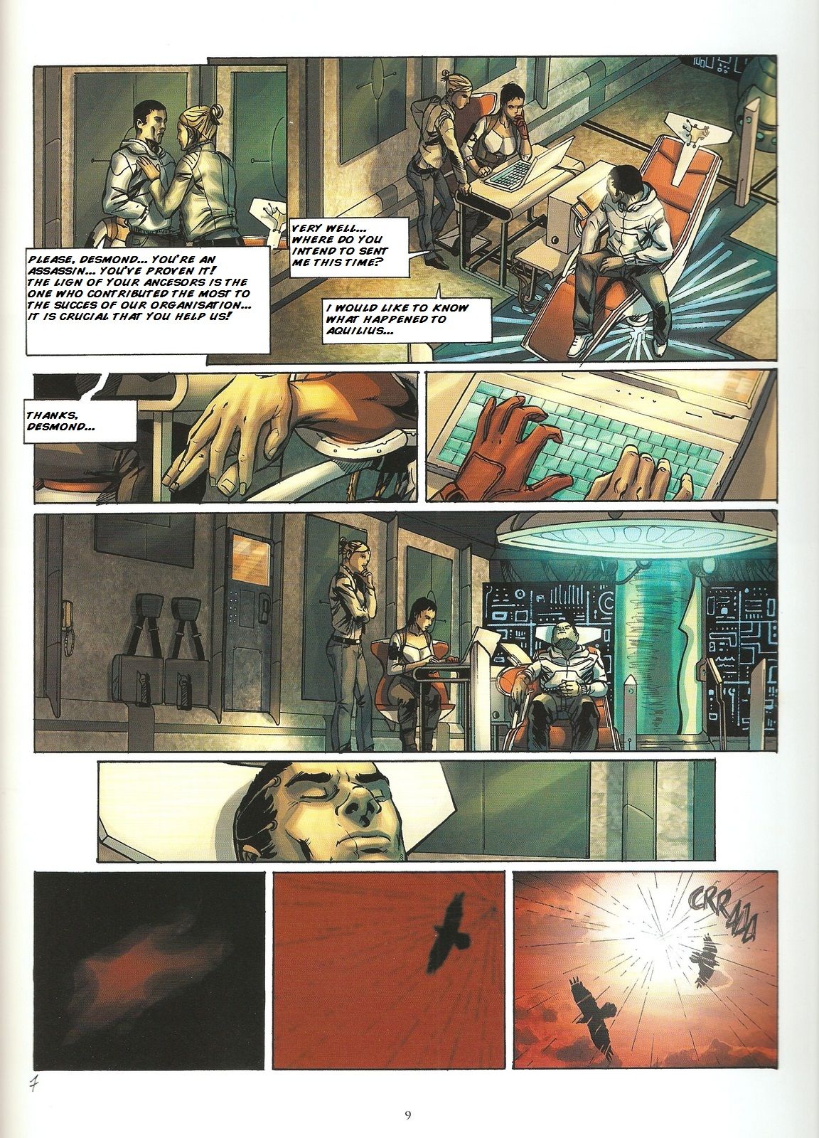 Read online Assassin's Creed (2009) comic -  Issue #2 - 9