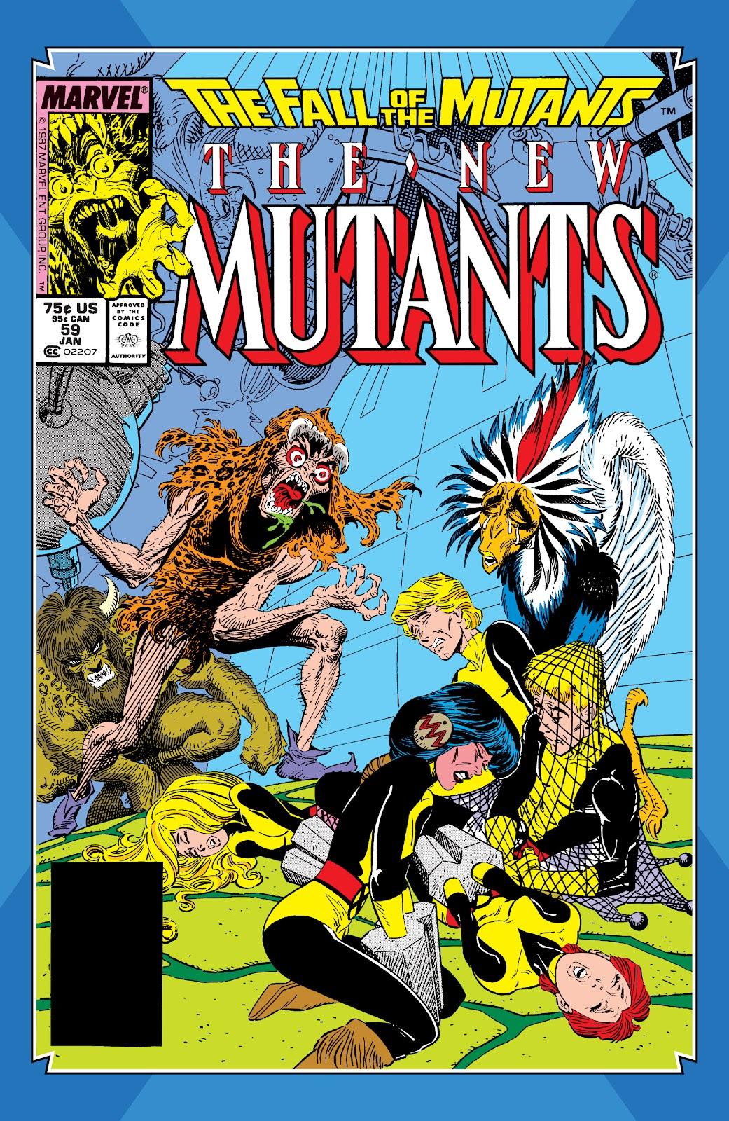 Read online X-Men Milestones: Fall of the Mutants comic -  Issue # TPB (Part 1) - 92