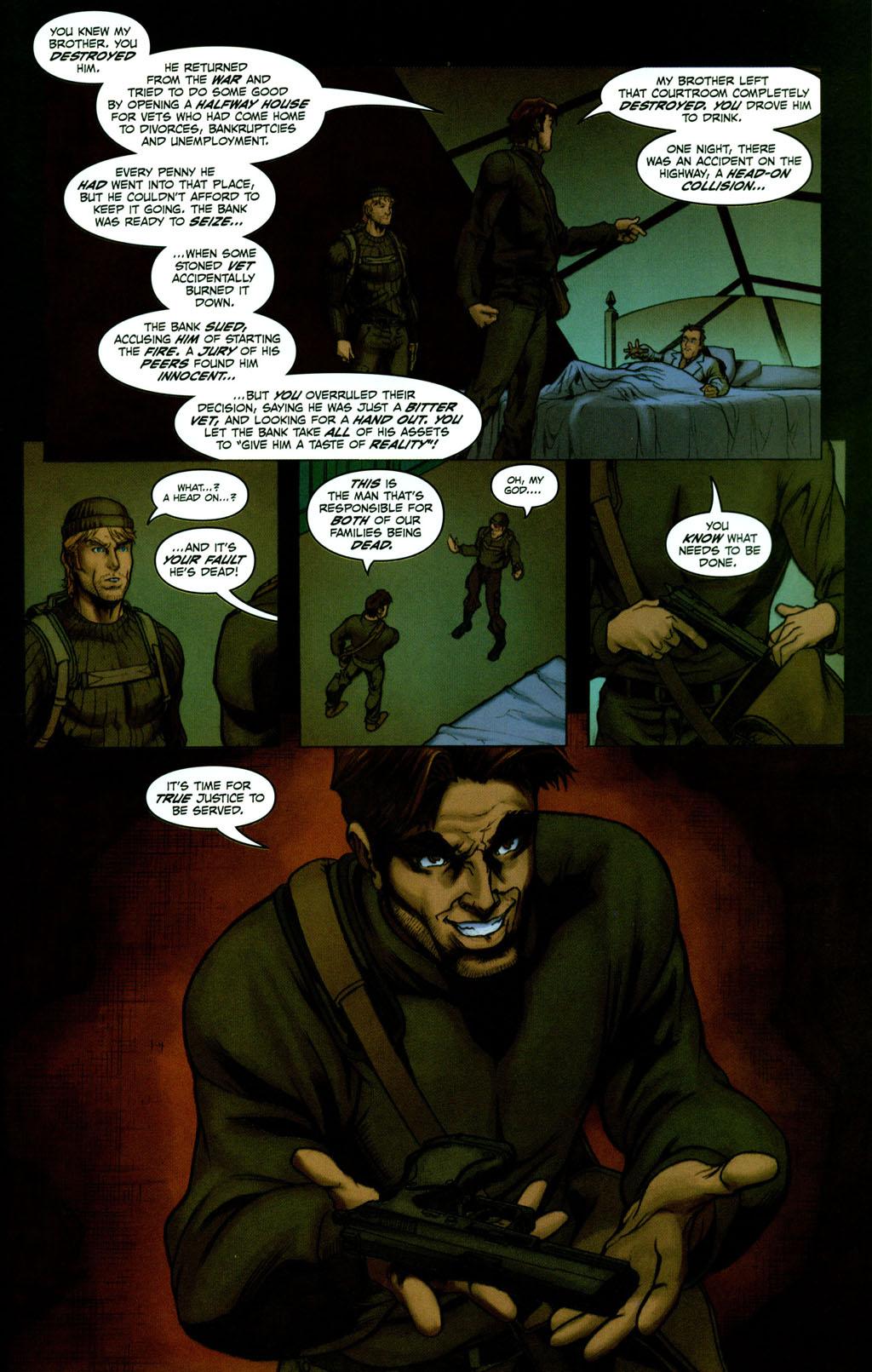 Read online Snake Eyes: Declassified comic -  Issue #2 - 17