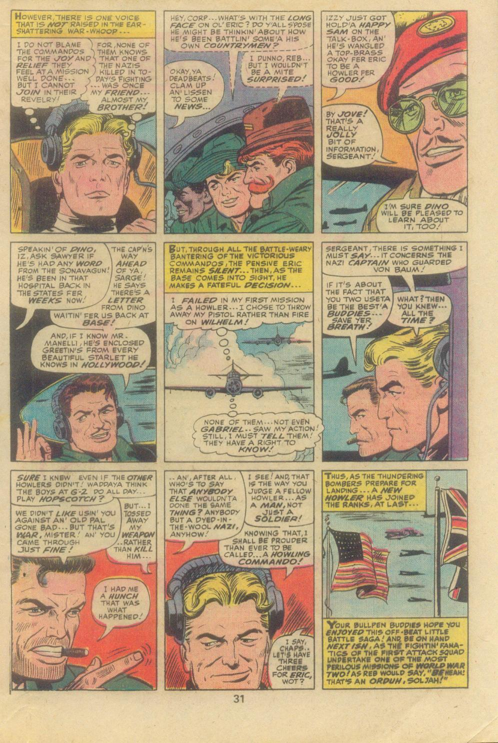 Read online Sgt. Fury comic -  Issue #138 - 33