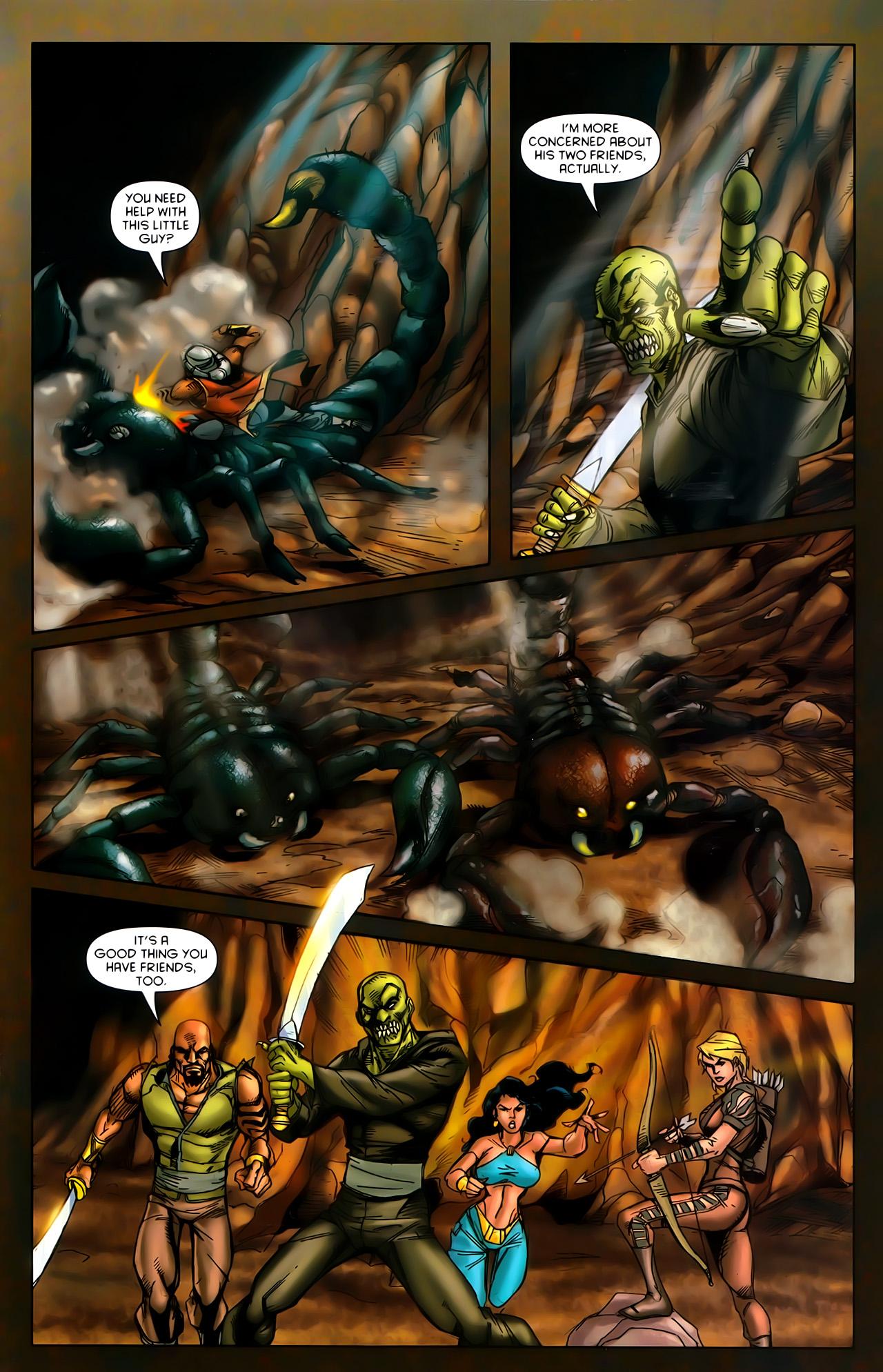 Read online 1001 Arabian Nights: The Adventures of Sinbad comic -  Issue #10 - 17