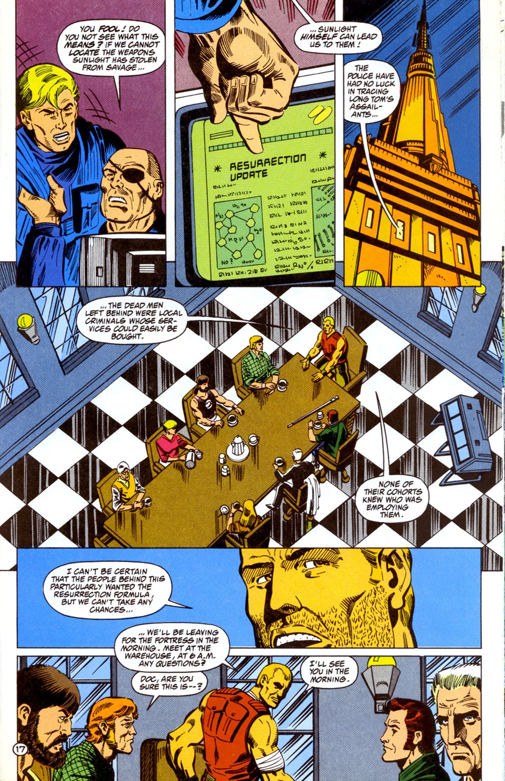 Doc Savage (1988) issue 11 - Page 19