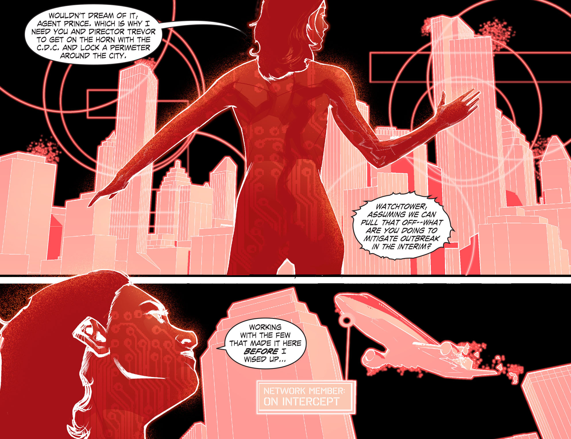 Read online Smallville: Chaos [II] comic -  Issue #7 - 16