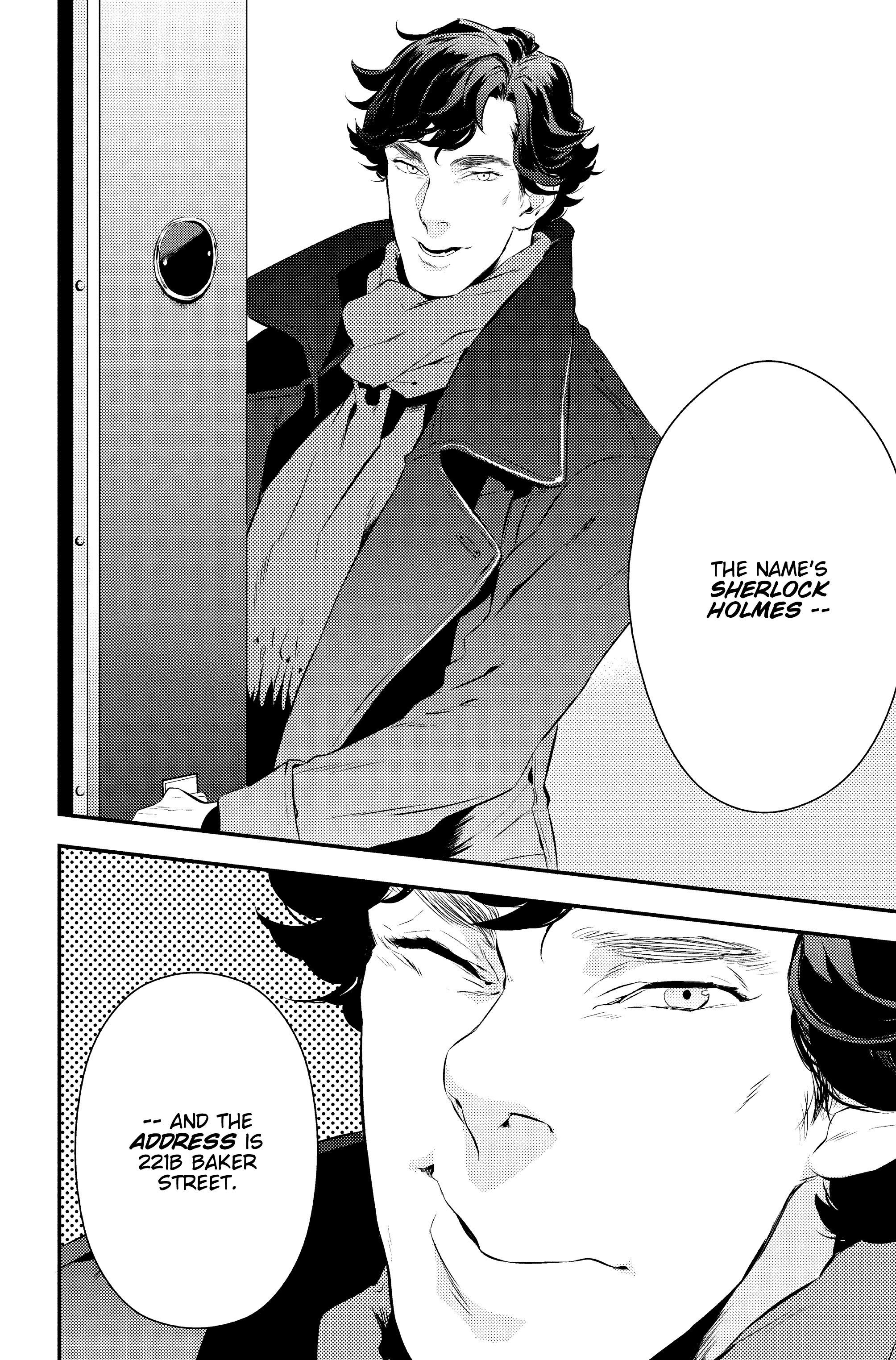 Read online Sherlock: A Study In Pink comic -  Issue #1 - 32