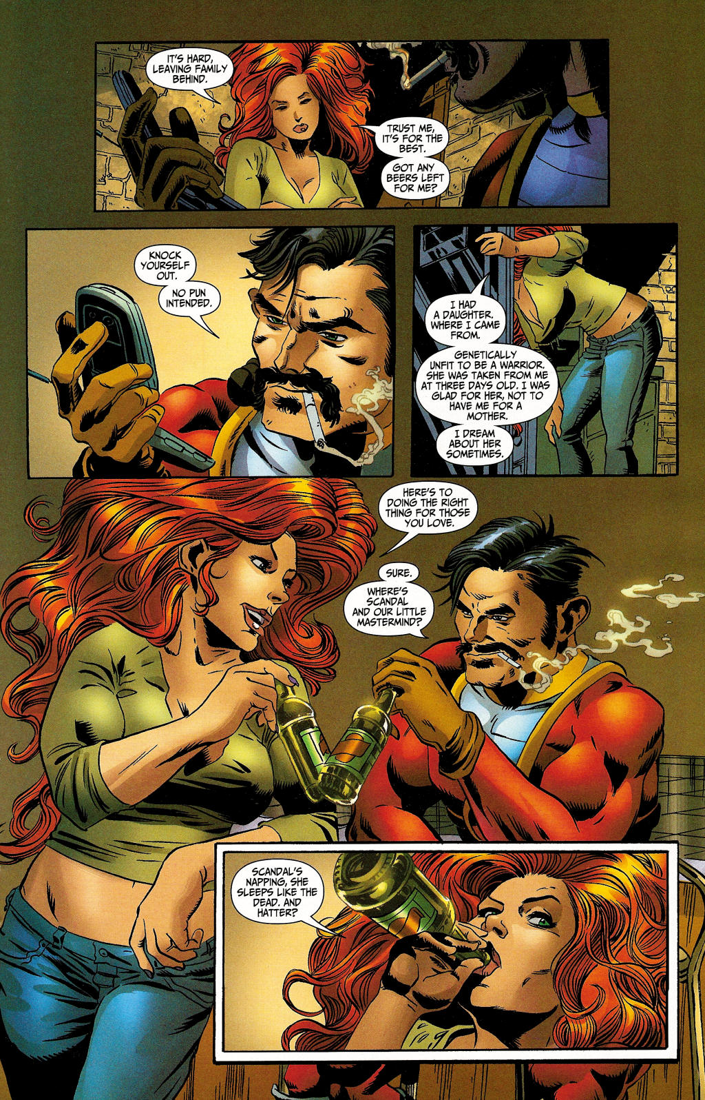 Read online Secret Six (2006) comic -  Issue #4 - 28