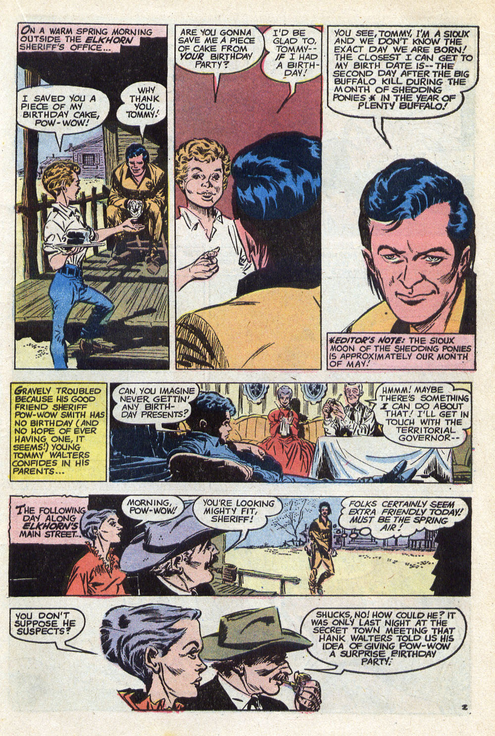 Read online All-Star Western (1970) comic -  Issue #8 - 29