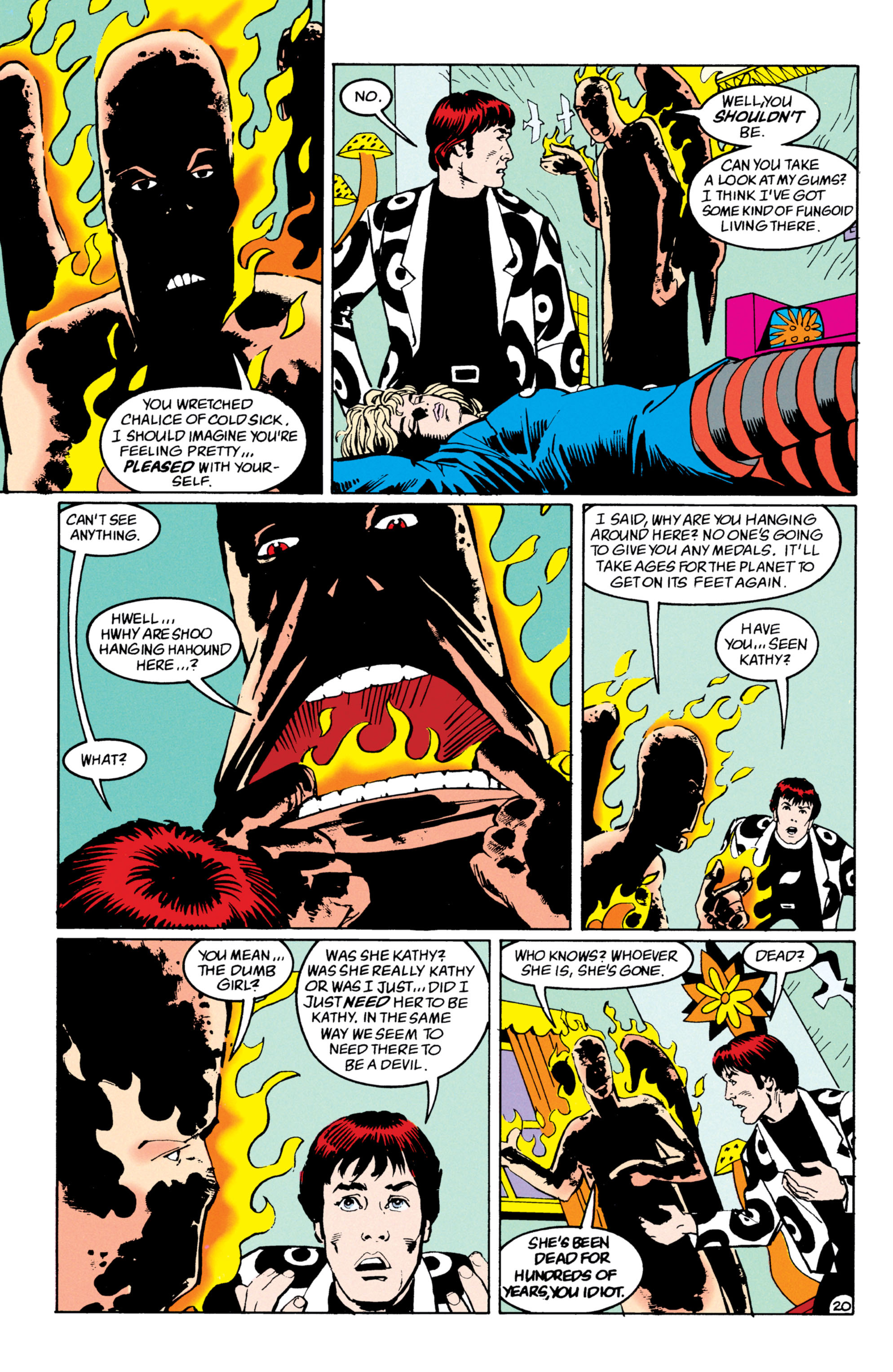 Read online Shade, the Changing Man comic -  Issue #53 - 21