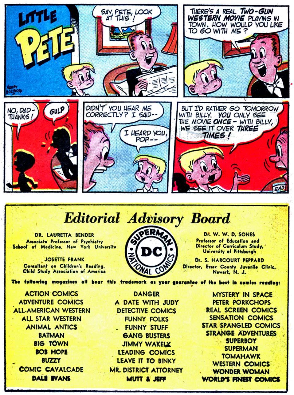 Read online Adventure Comics (1938) comic -  Issue #163 - 38