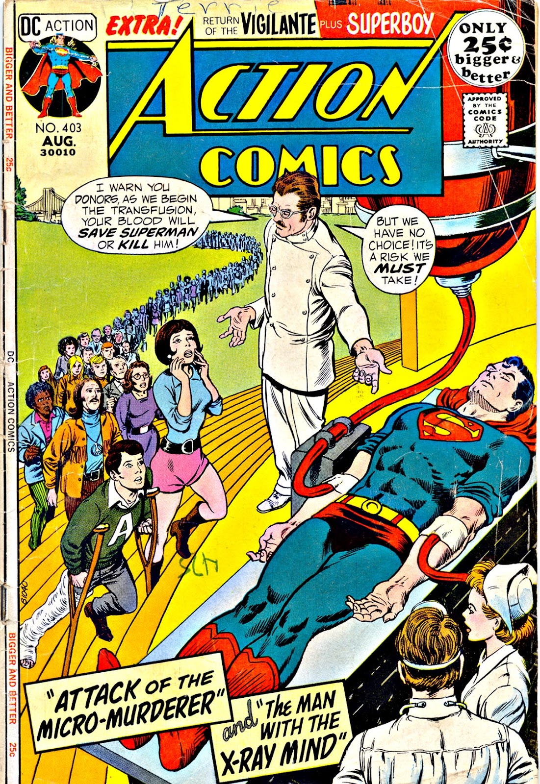 Action Comics (1938) 403 Page 1