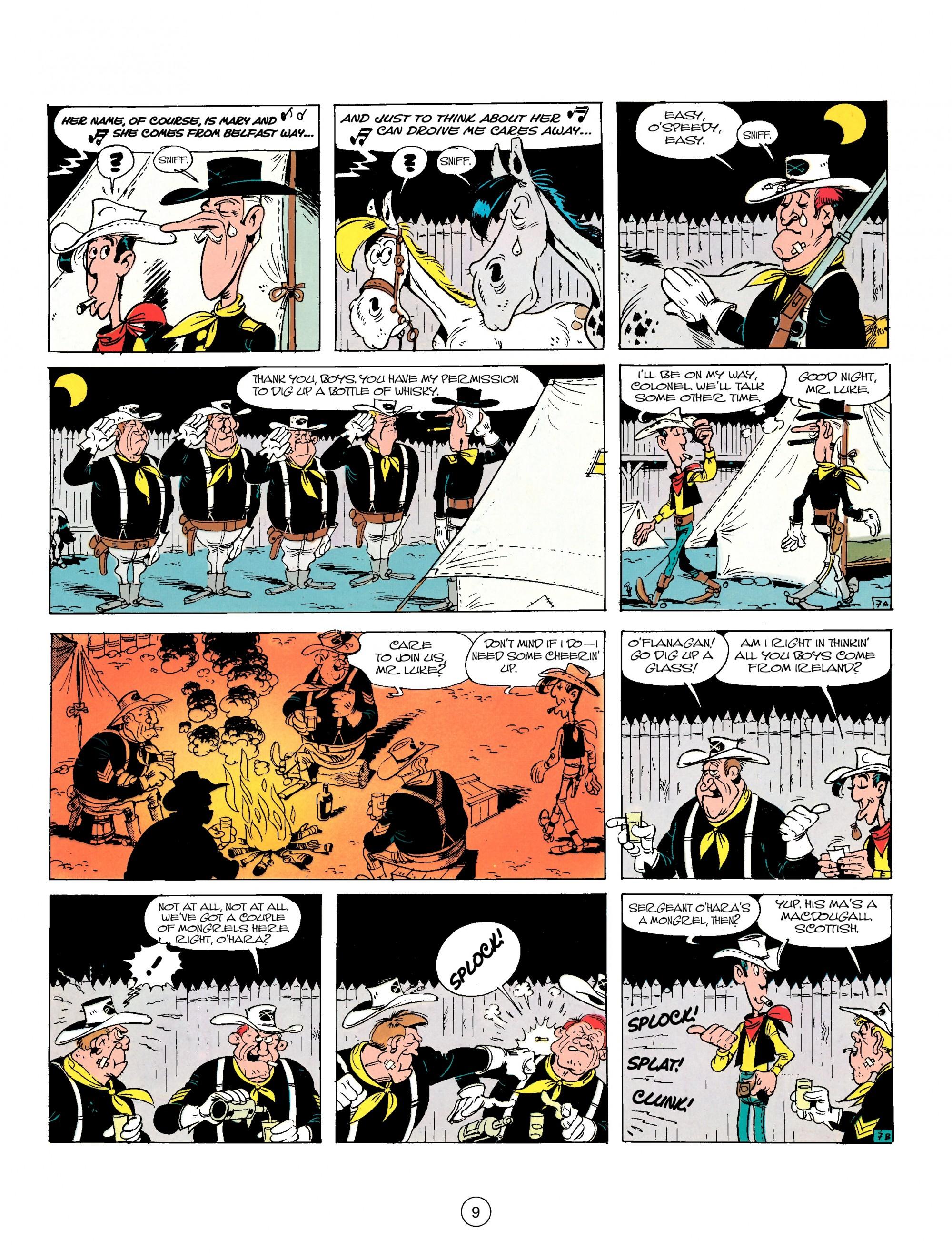 Read online A Lucky Luke Adventure comic -  Issue #17 - 9
