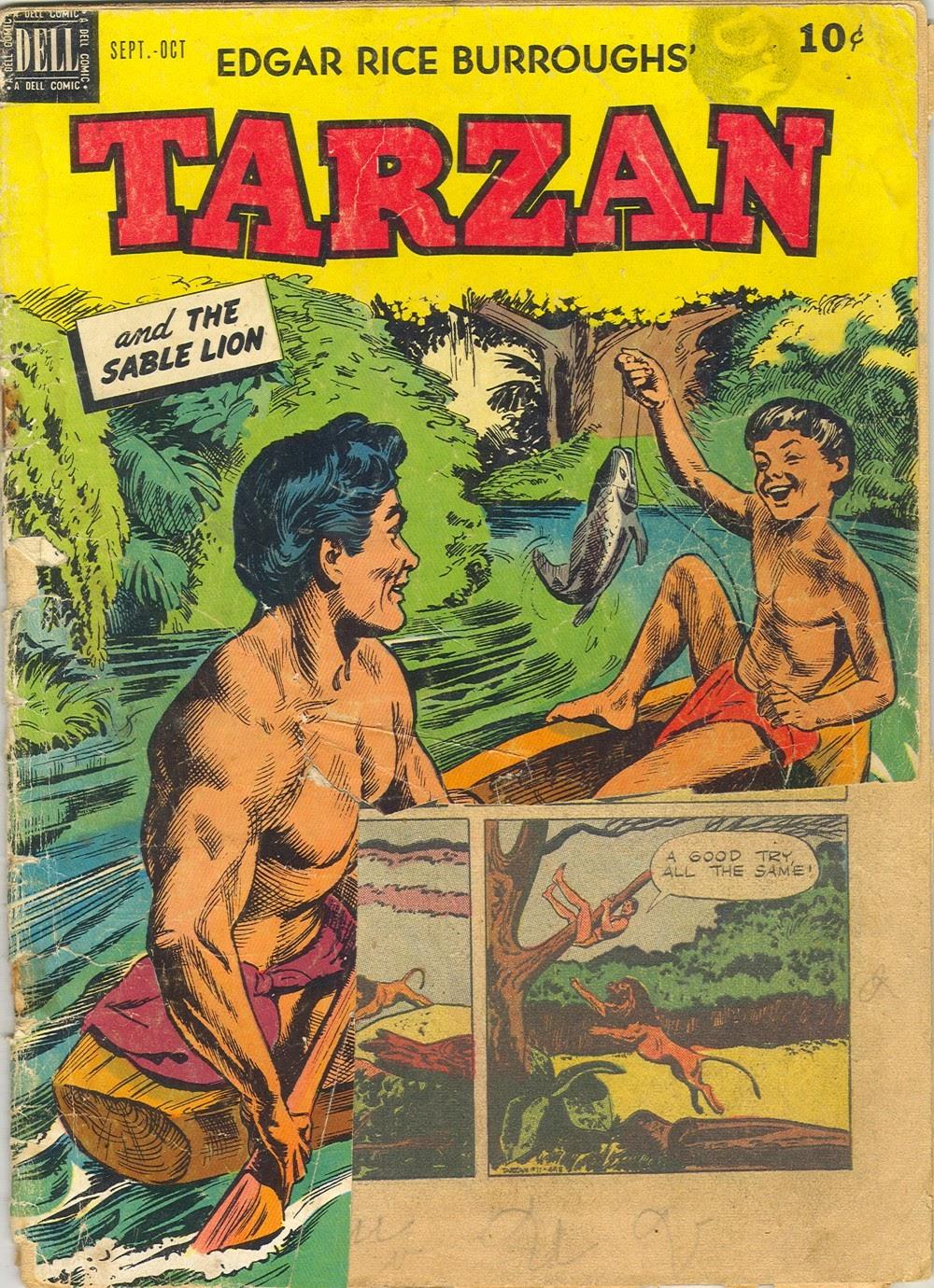 Tarzan (1948) issue 11 - Page 1