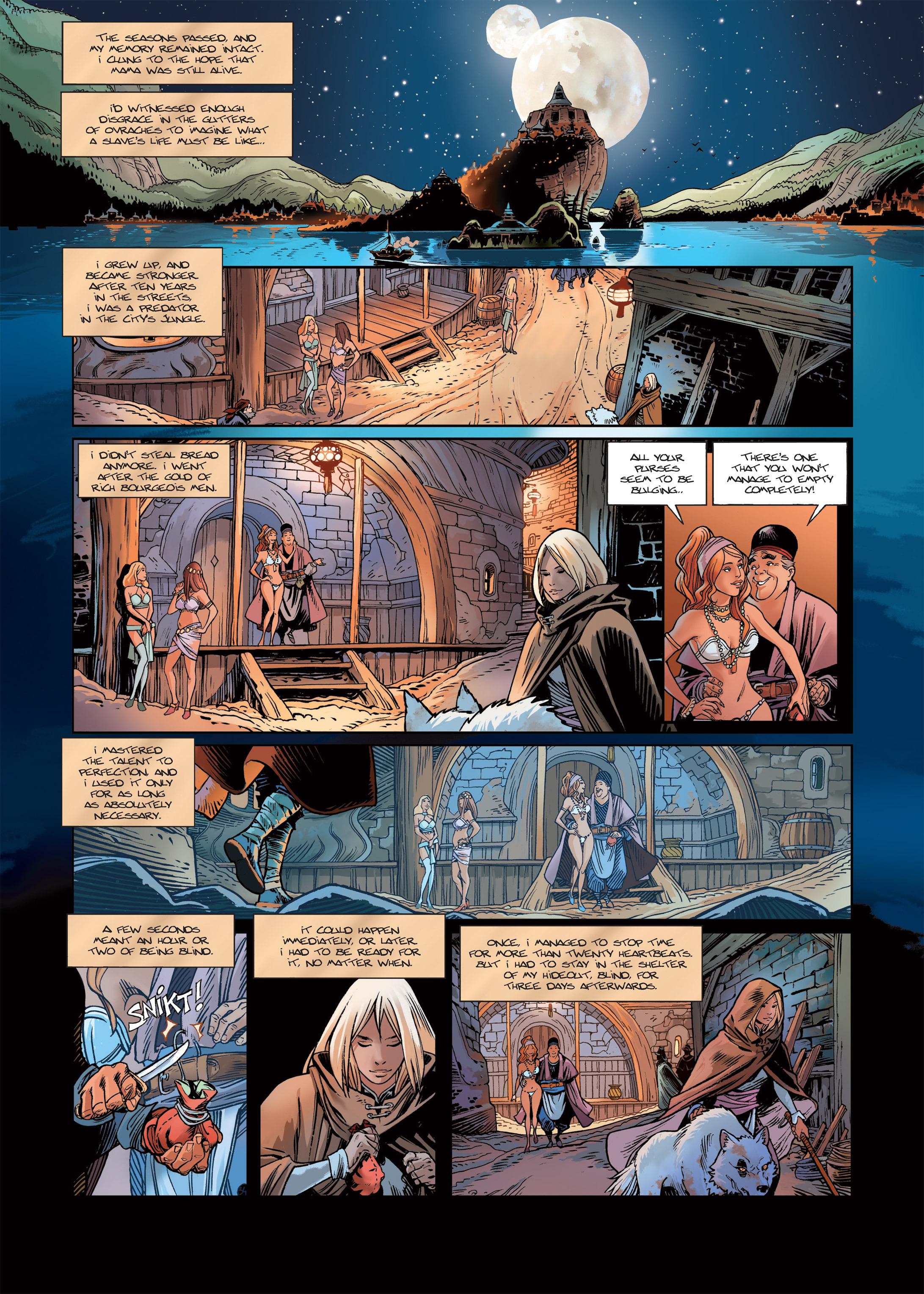 Read online Sangre Vol. 1: Sangre the Survivor comic -  Issue # Full - 36