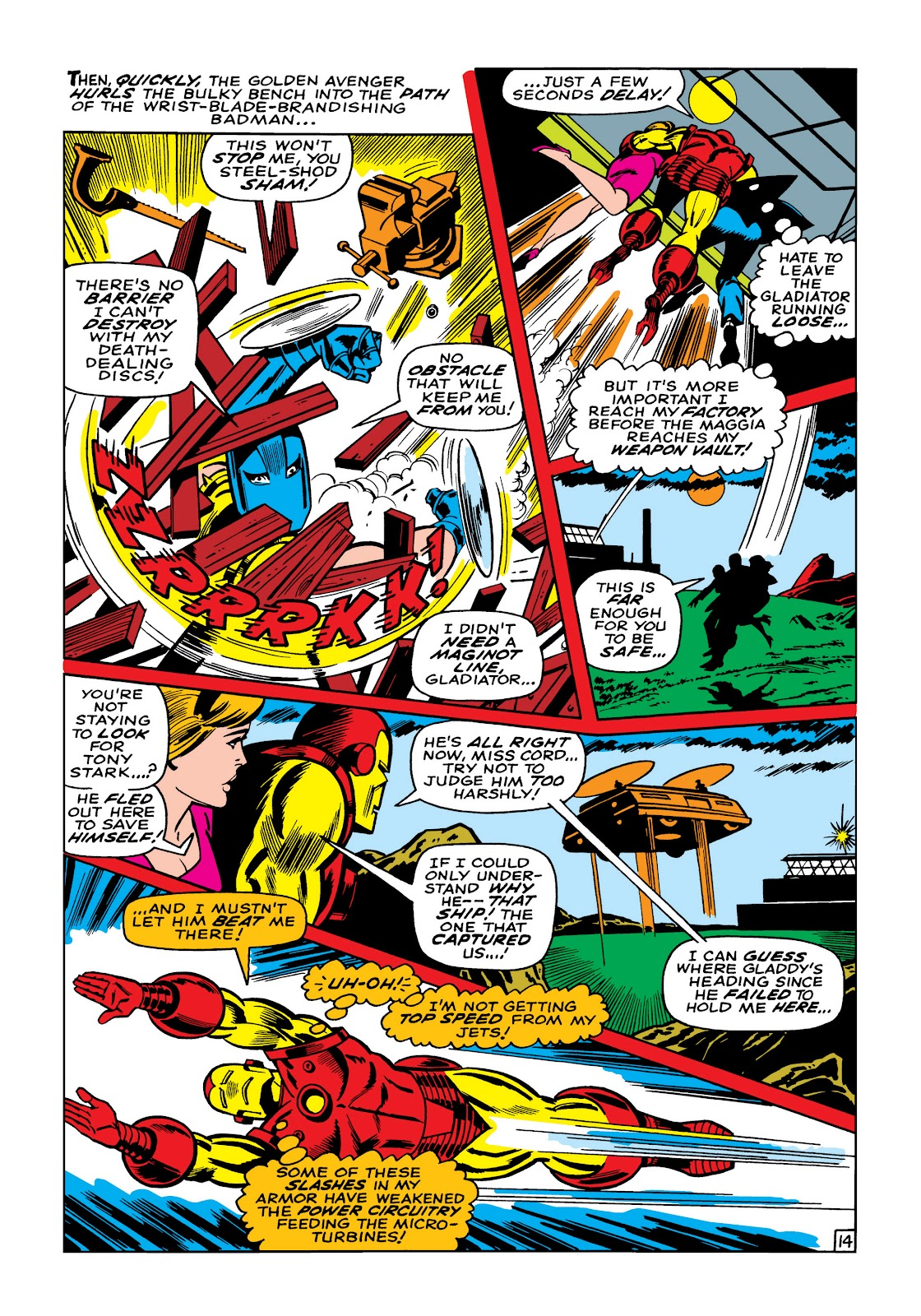 Read online Marvel Masterworks: The Invincible Iron Man comic -  Issue # TPB 5 (Part 2) - 47