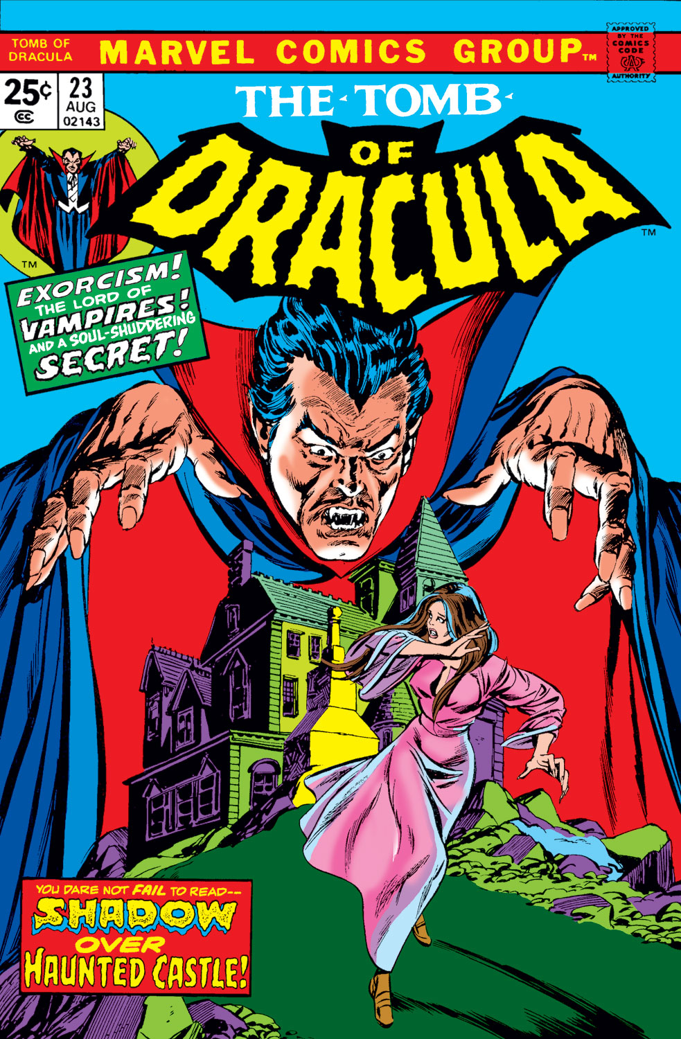 Tomb of Dracula (1972) issue 23 - Page 1