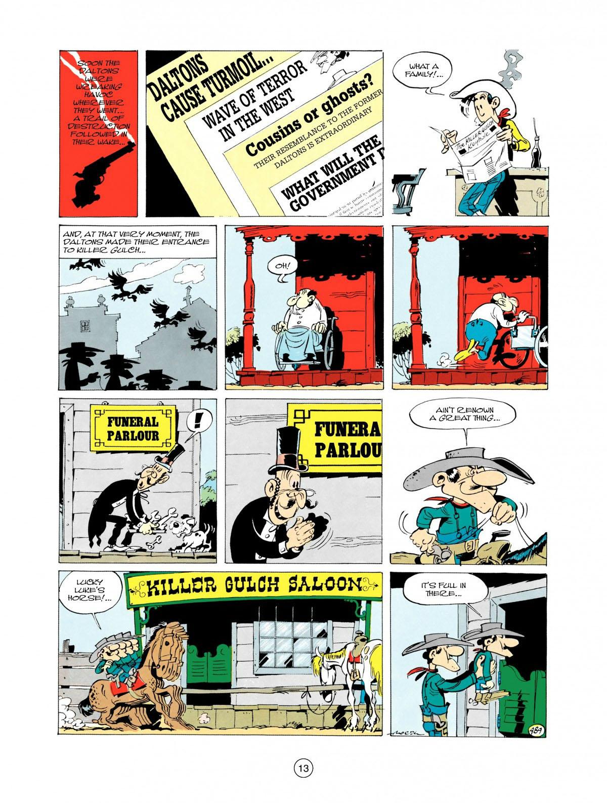 Read online A Lucky Luke Adventure comic -  Issue #28 - 14