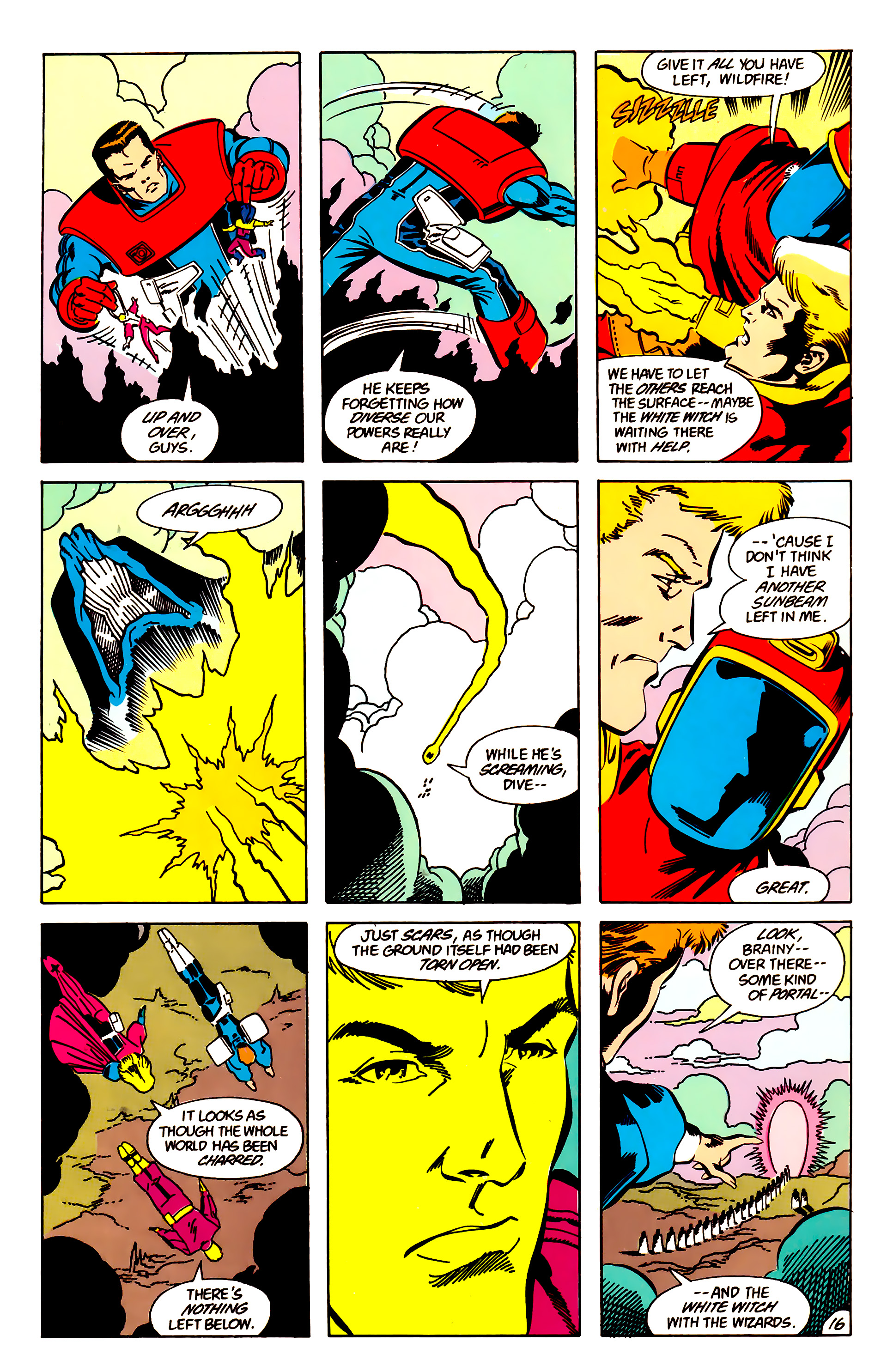 Legion of Super-Heroes (1984) 63 Page 16