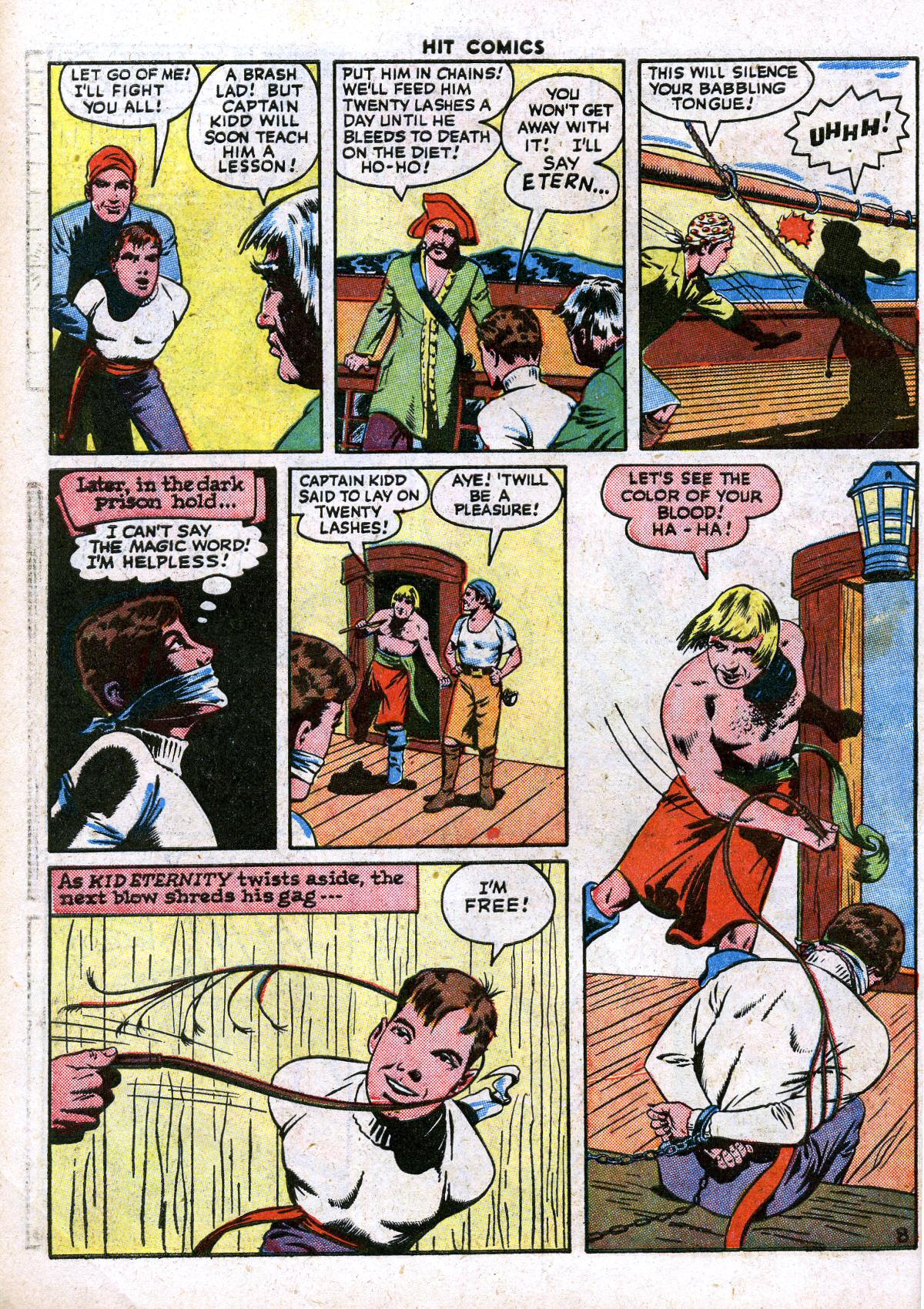 Read online Hit Comics comic -  Issue #41 - 10