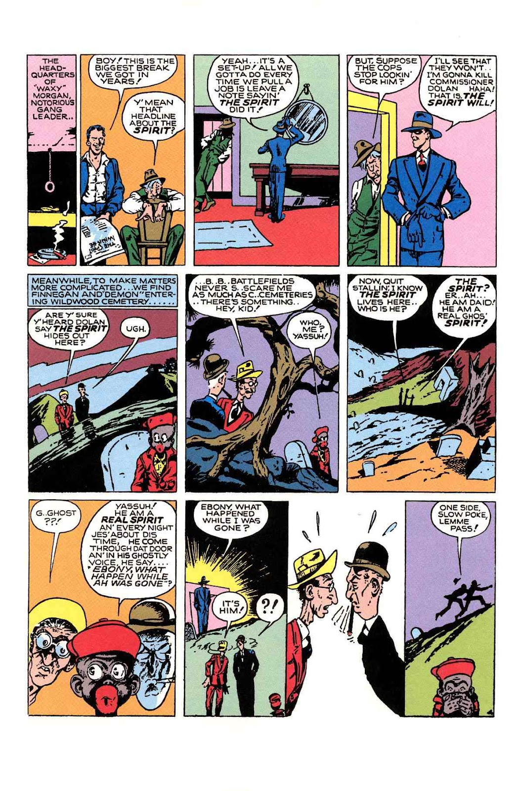 Read online Will Eisner's The Spirit Archives comic -  Issue # TPB 1 (Part 2) - 38