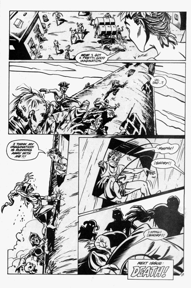 Ex-Mutants: The Shattered Earth Chronicles issue 7 - Page 21