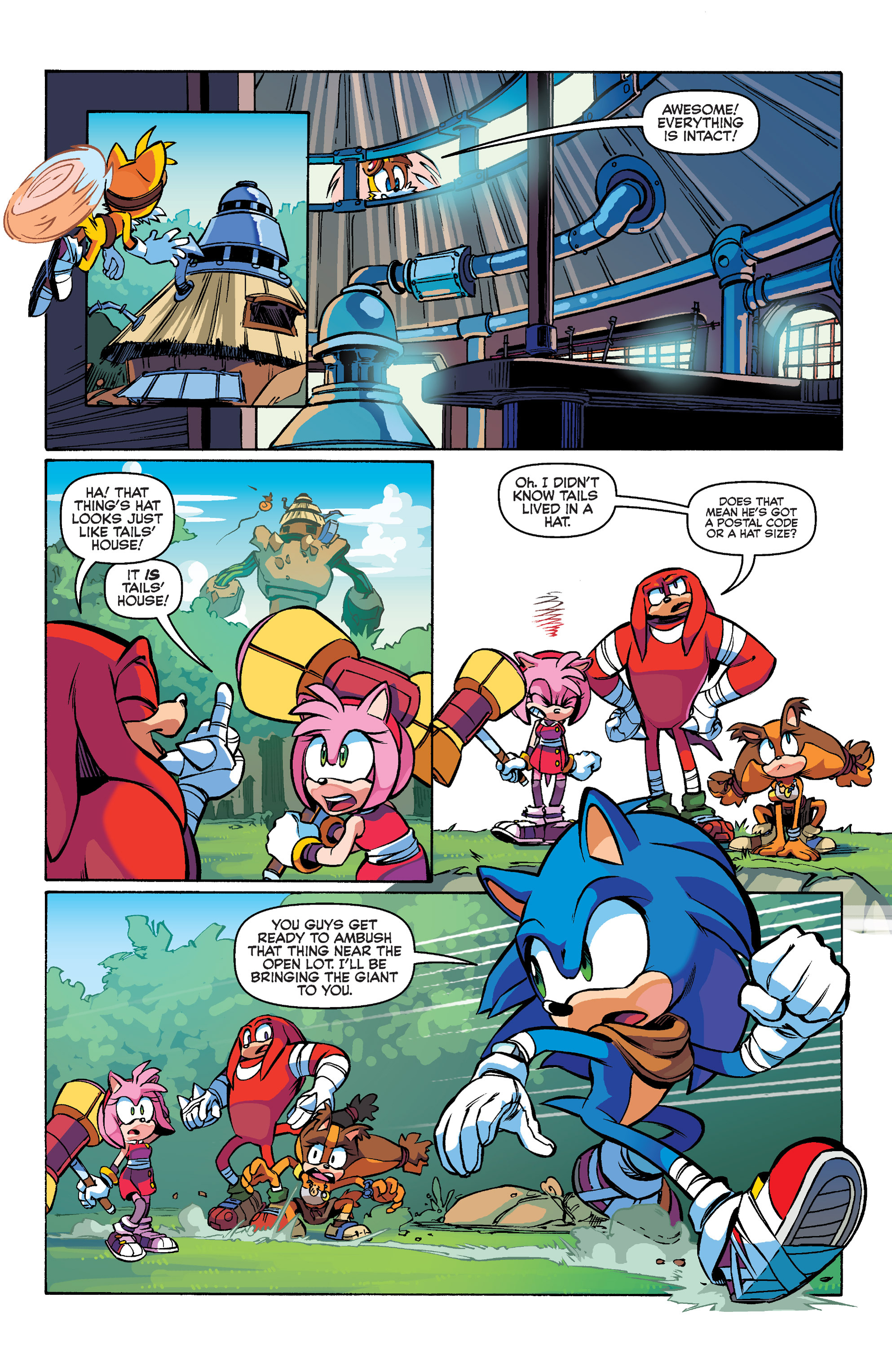 Read online Sonic Boom comic -  Issue #1 - 16