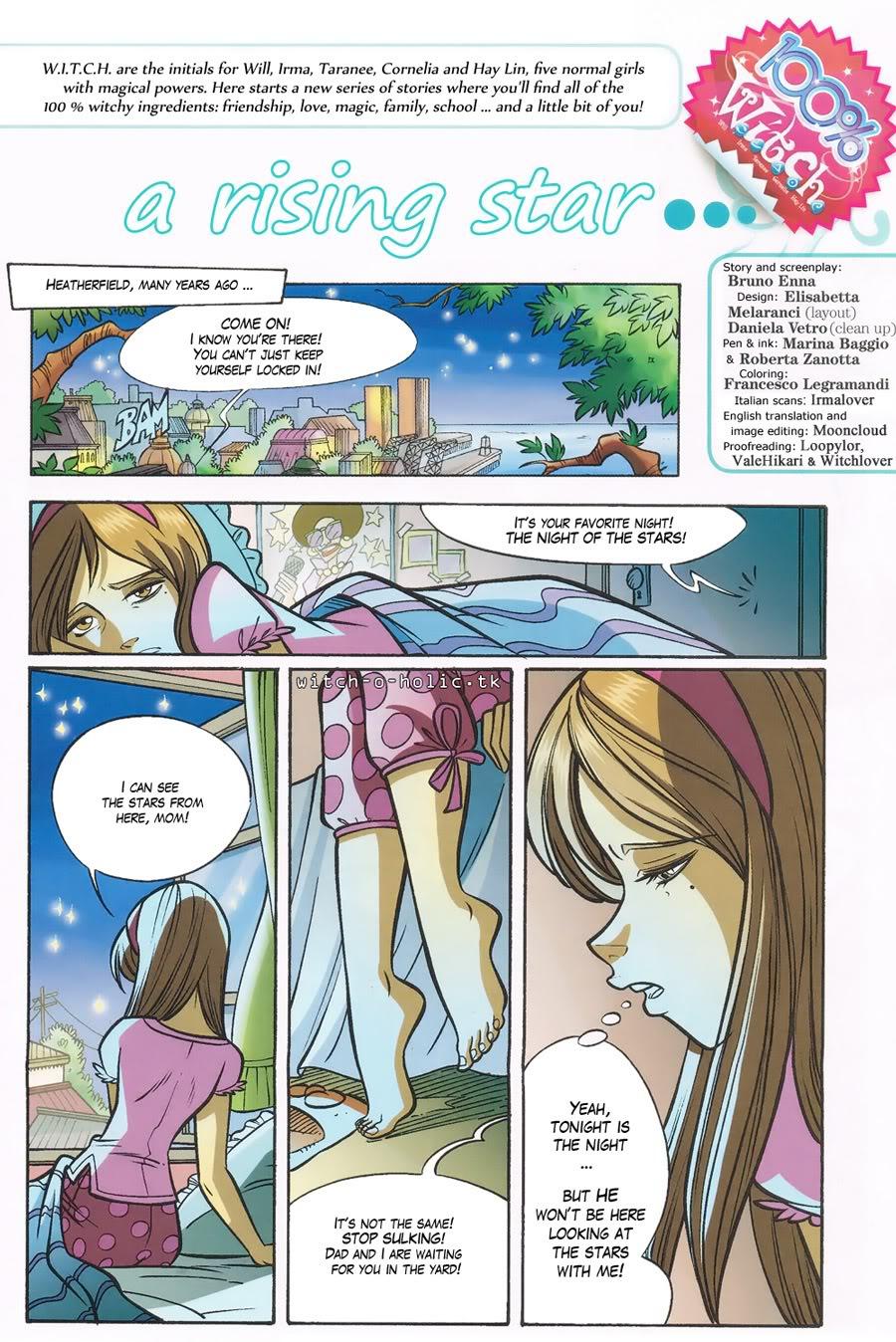 W.i.t.c.h. 101 Page 1