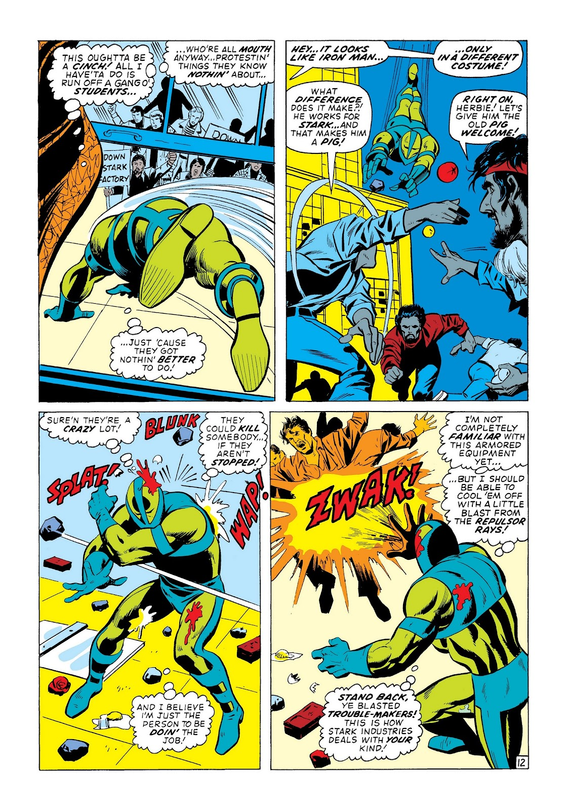 Read online Marvel Masterworks: The Invincible Iron Man comic -  Issue # TPB 8 (Part 2) - 34
