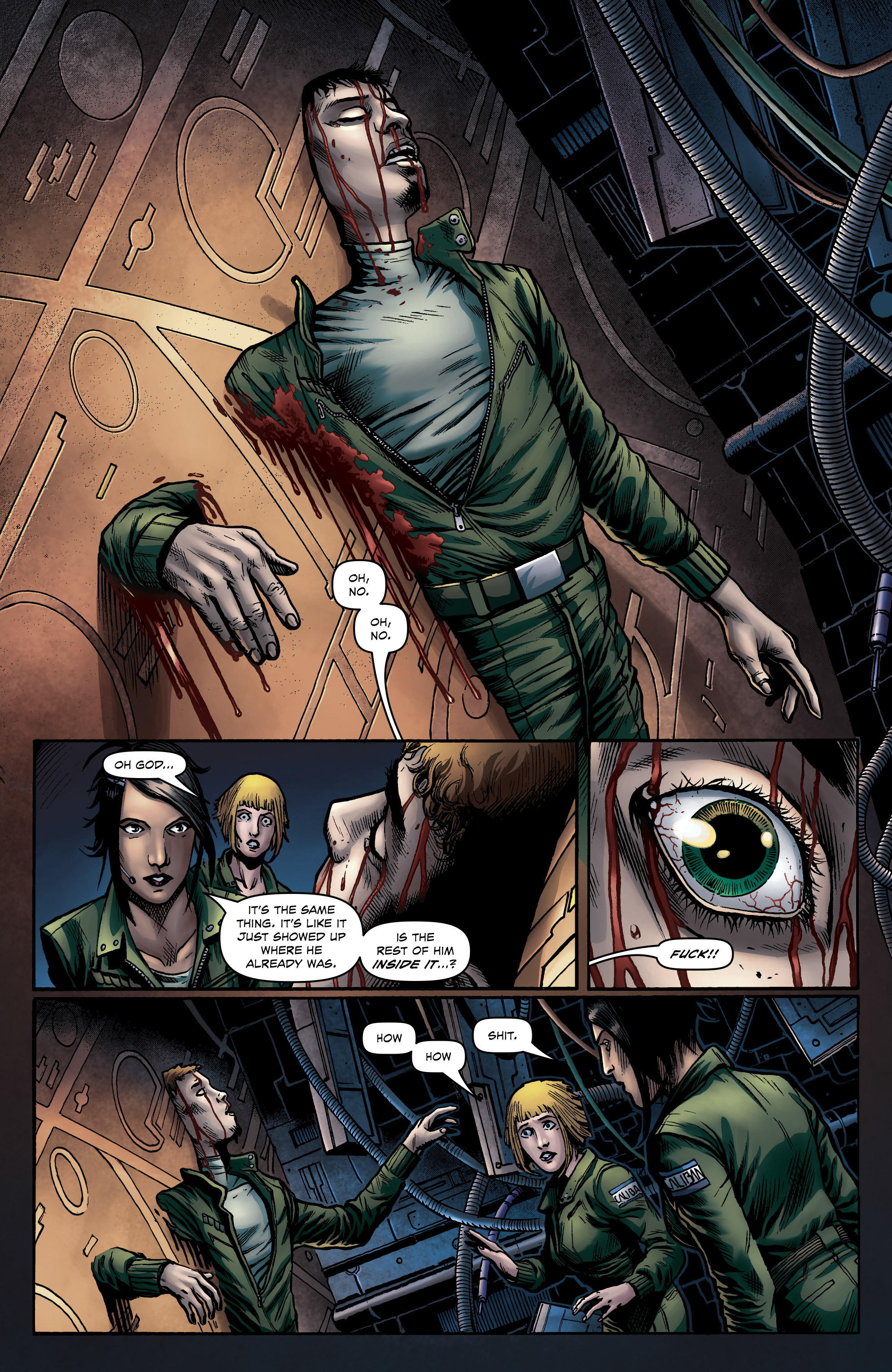 Read online Caliban comic -  Issue #1 - 22