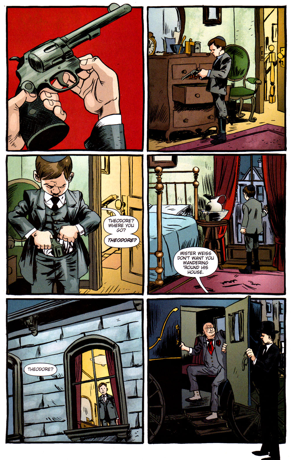Read online Caper comic -  Issue #3 - 21