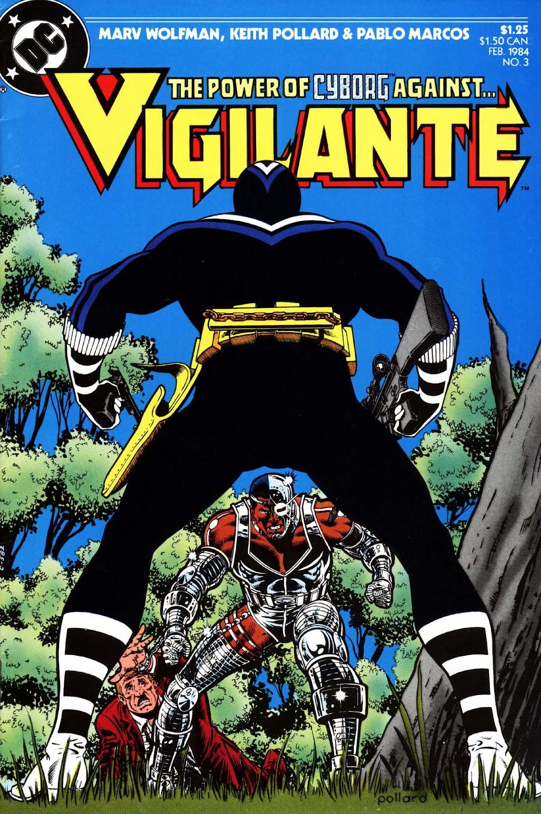 Vigilante (1983) issue 3 - Page 1