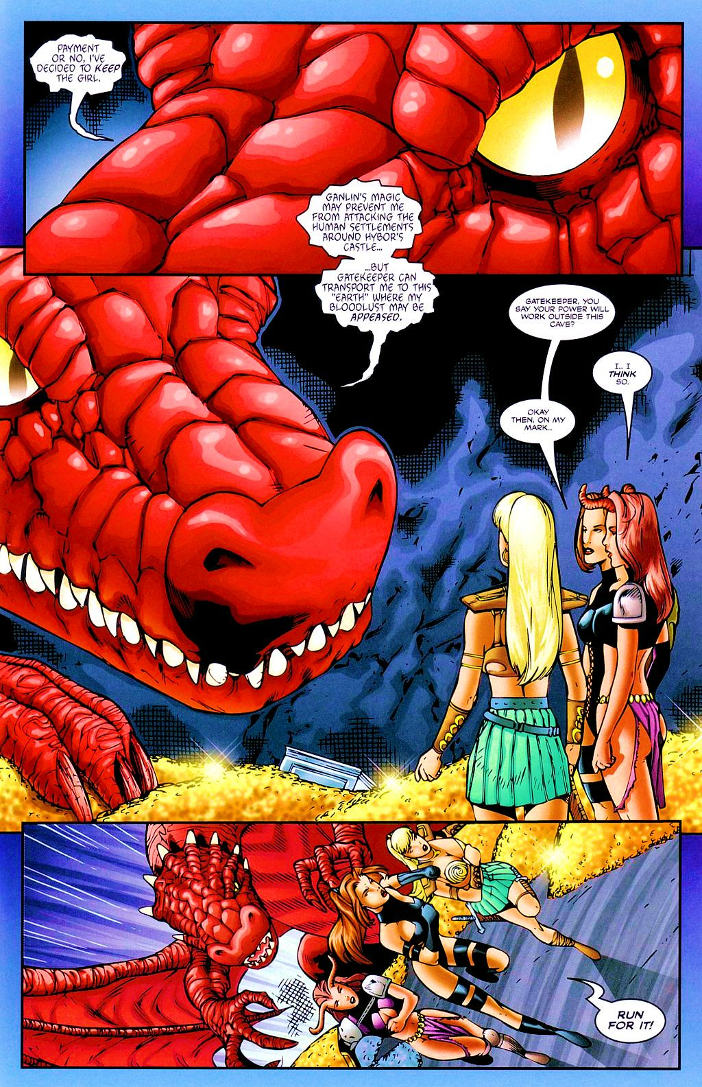 Read online Avengelyne: Dragon Realm comic -  Issue #2 - 12