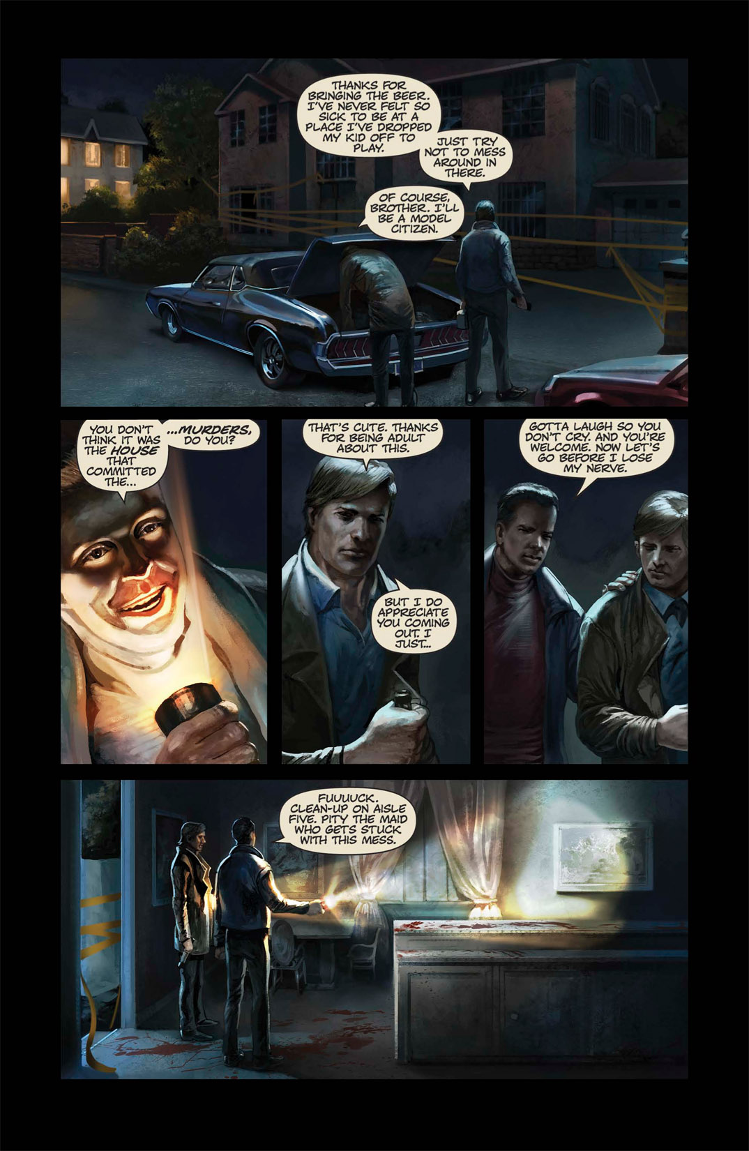 Read online Abattoir comic -  Issue #1 - 18