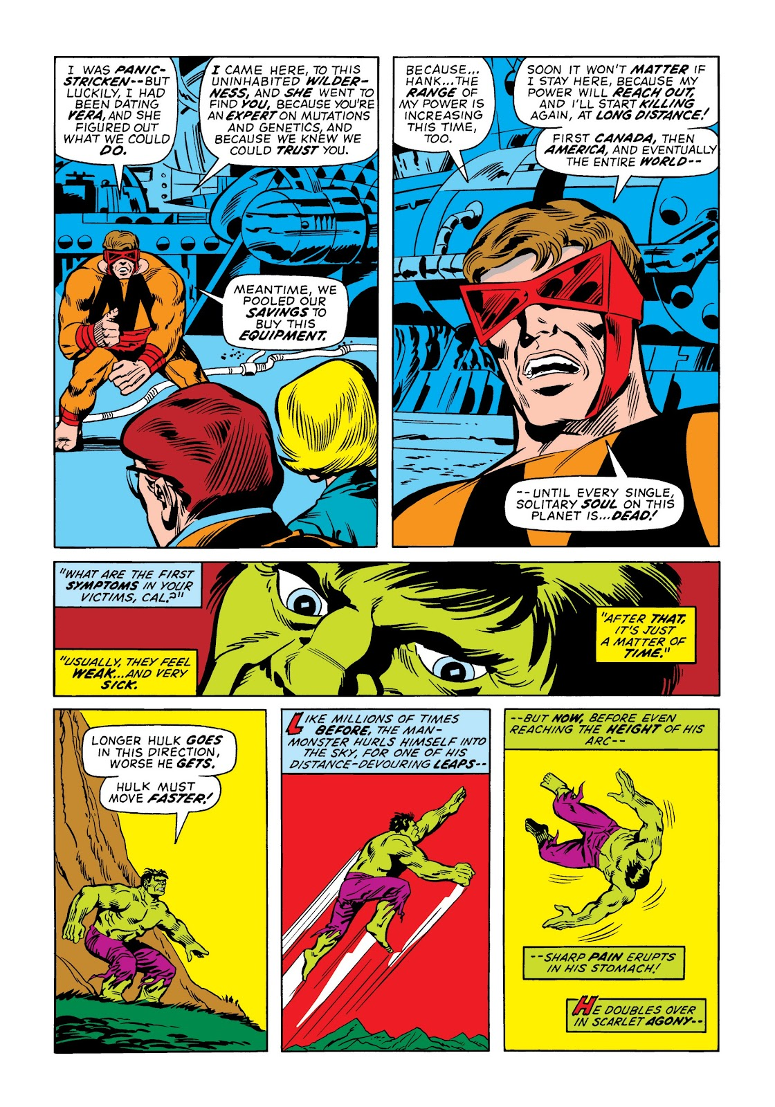 Read online Marvel Masterworks: The Incredible Hulk comic -  Issue # TPB 9 (Part 2) - 5
