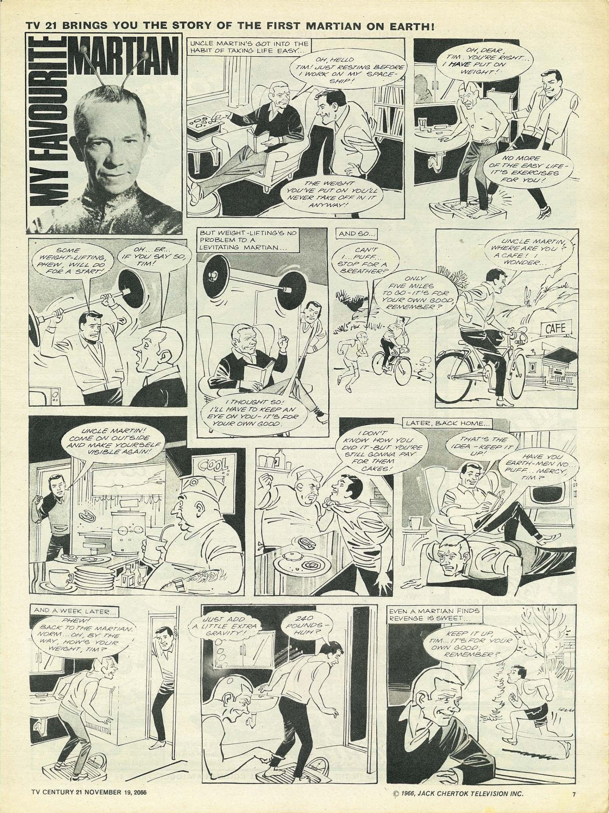 Read online TV Century 21 (TV 21) comic -  Issue #96 - 7