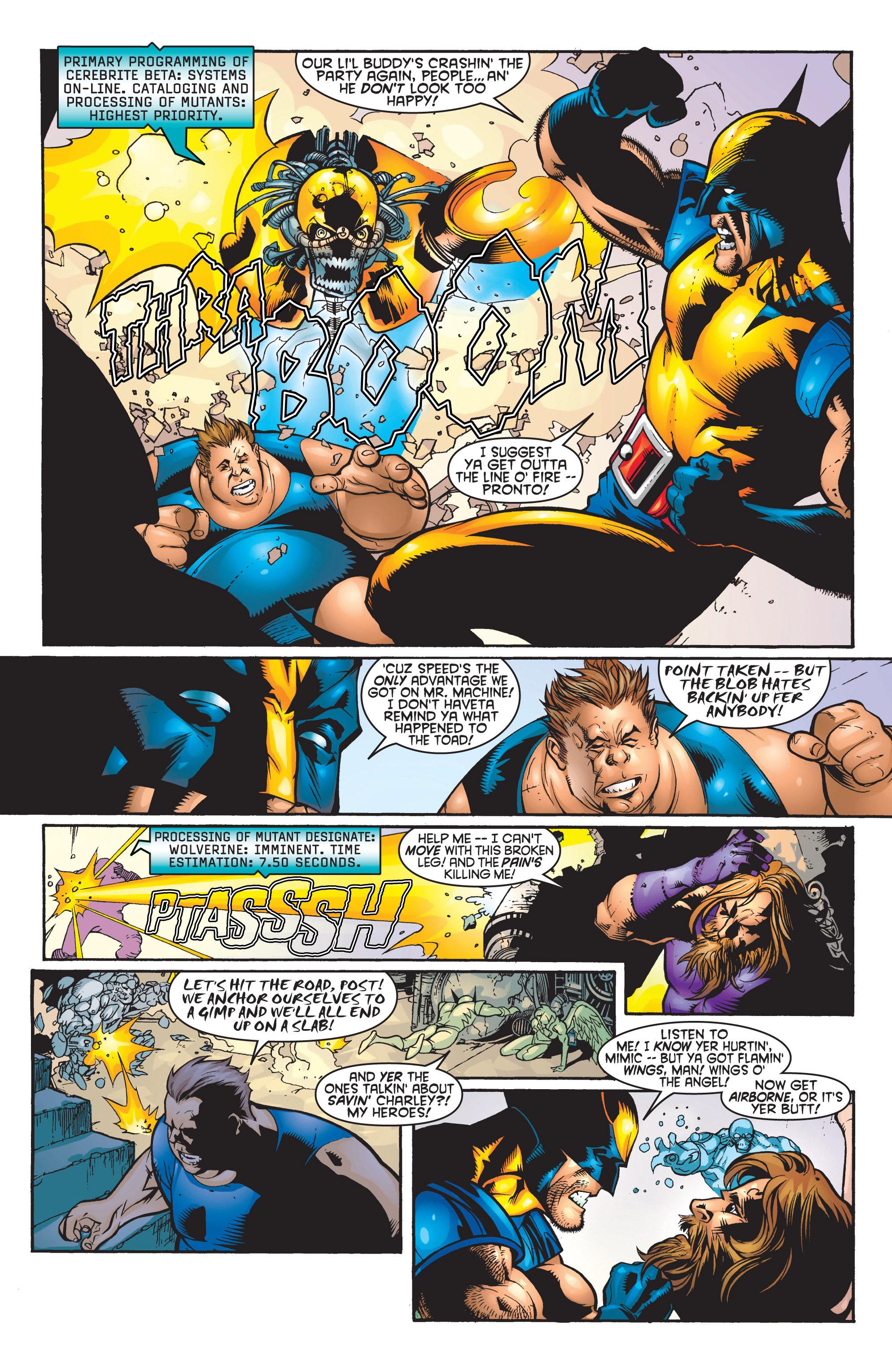 Read online Uncanny X-Men (1963) comic -  Issue #364 - 16