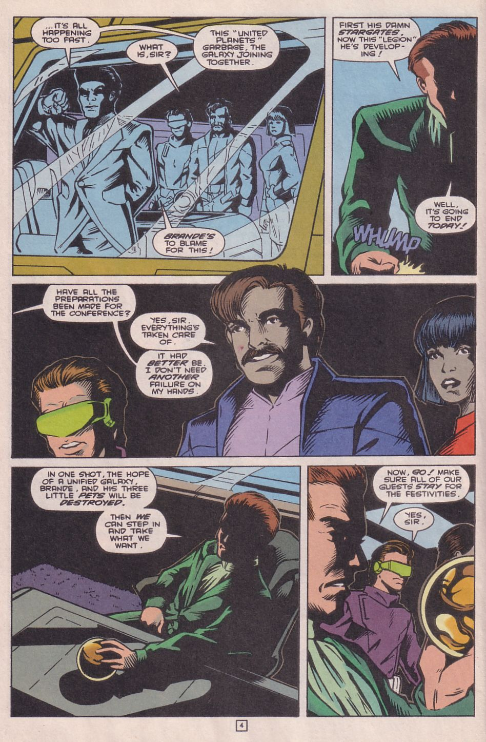 Legionnaires issue 0 - Page 5